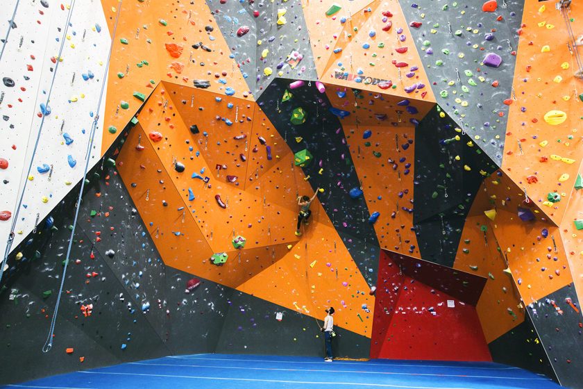 Indoor Rock Climbing Has A New Corporate Giant The Cliffs At Lic Fortune