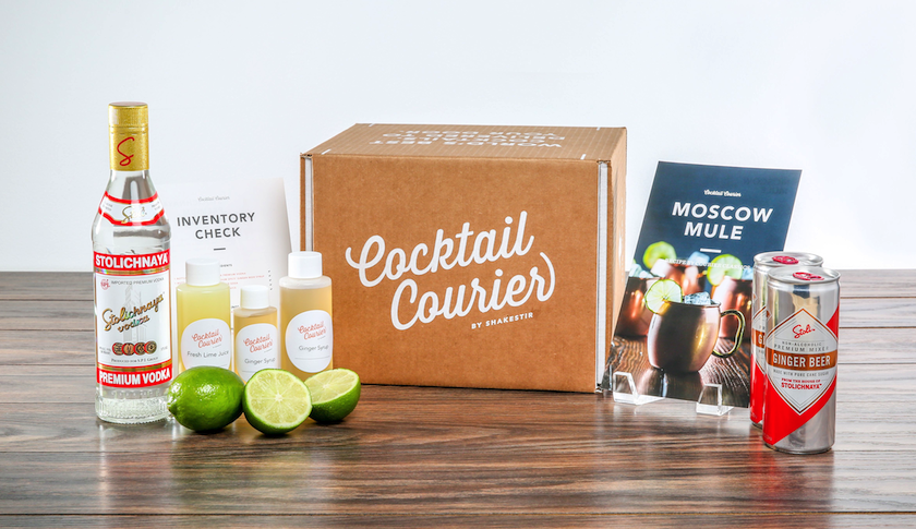 Cocktail Courier's Moscow Mule kit