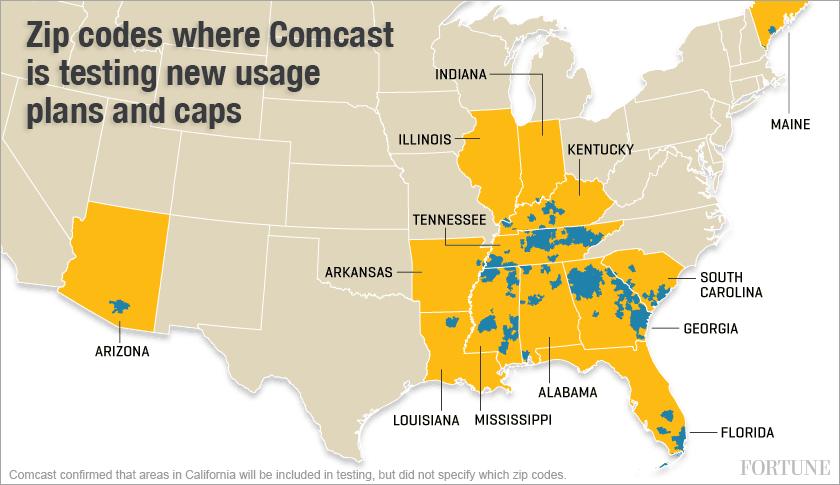 Comcast broadband Internet pricing designed to fend off ...