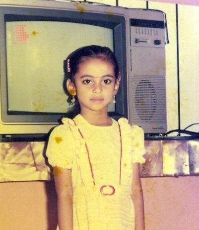 DSuryadevara childhood