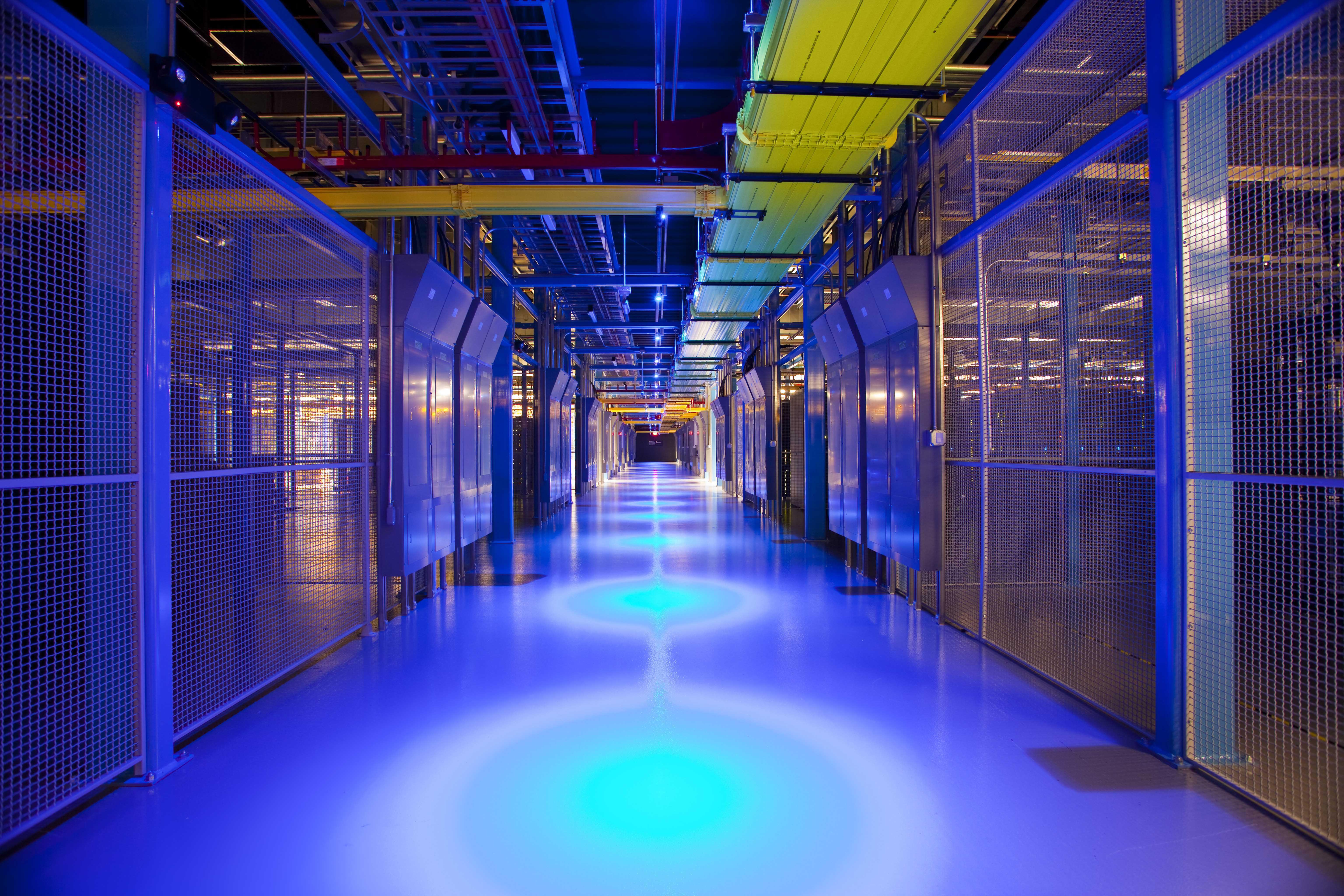 Equinix's data center in San Jose, Calif.