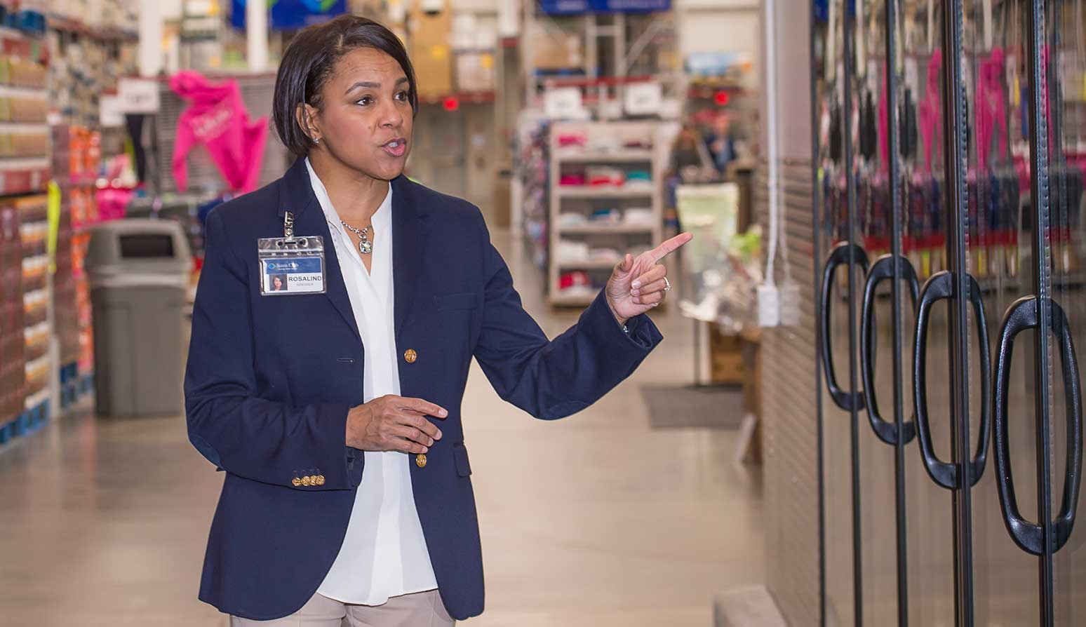 Sam's Club CEO Rosalind Brewer.