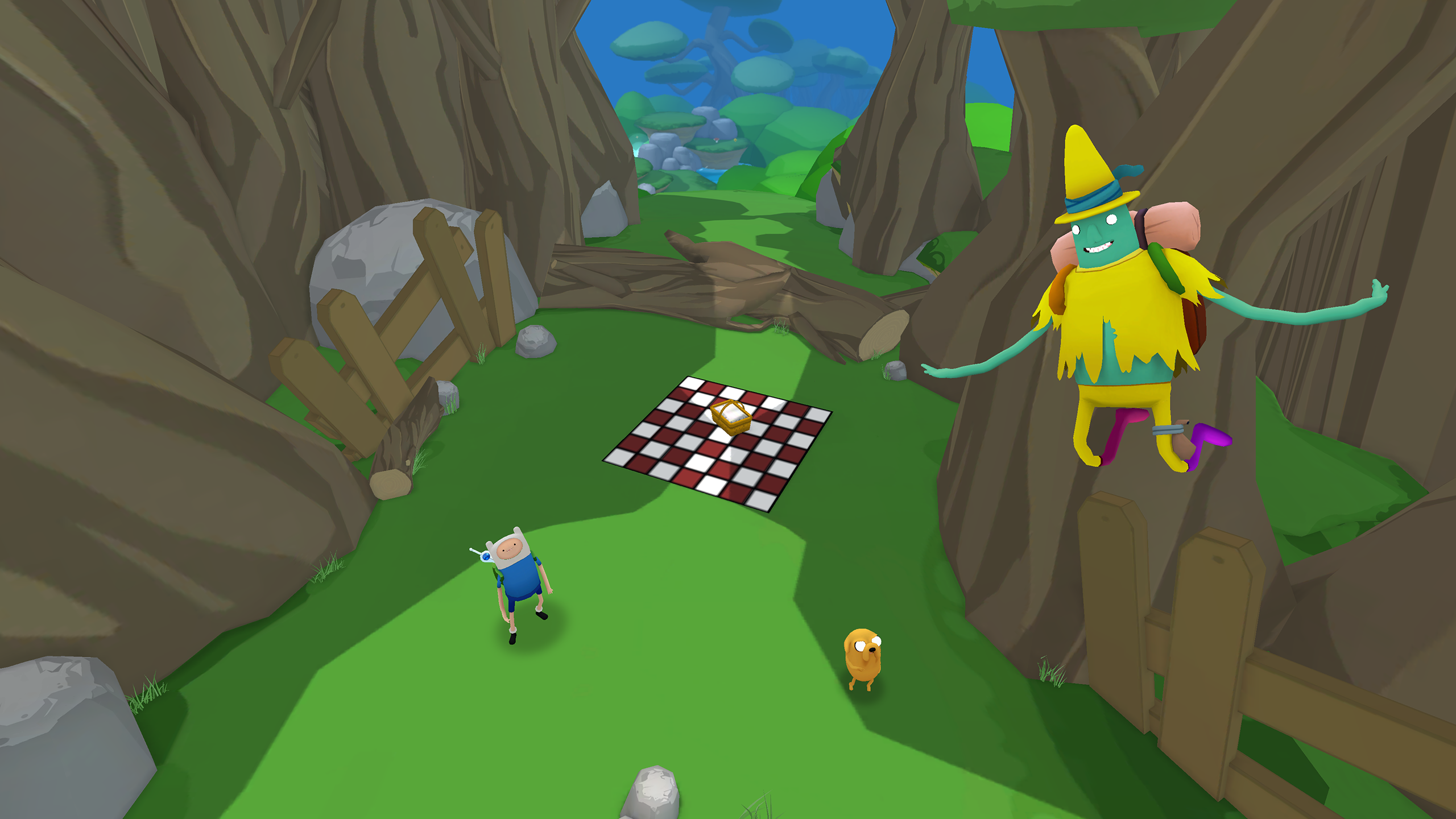 Adventure Time: Magic Man's Head Games  for Samsung Gear VR is the first VR game based on a TV show.