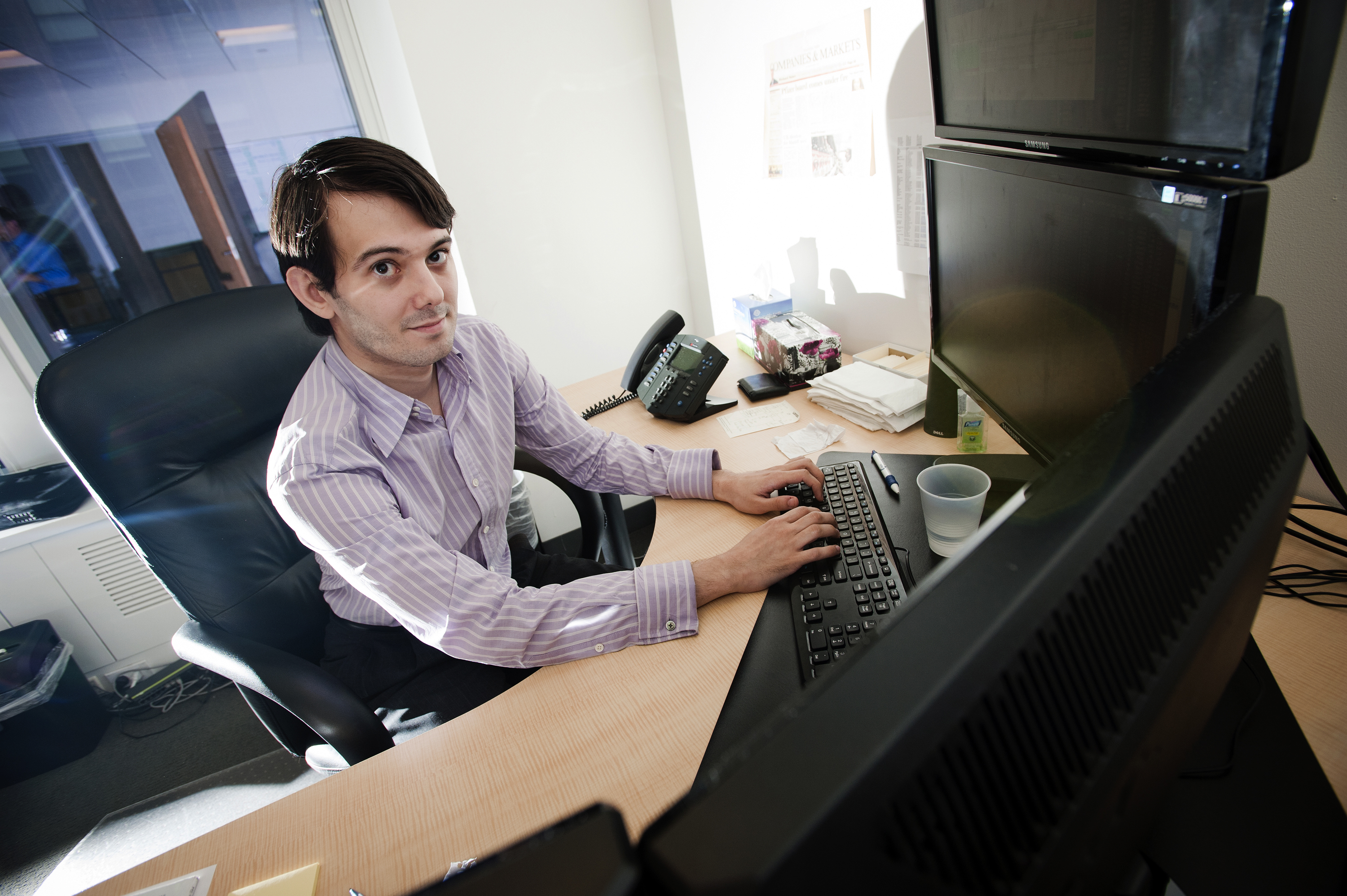MSMB Capital Management CIO Martin Shkreli