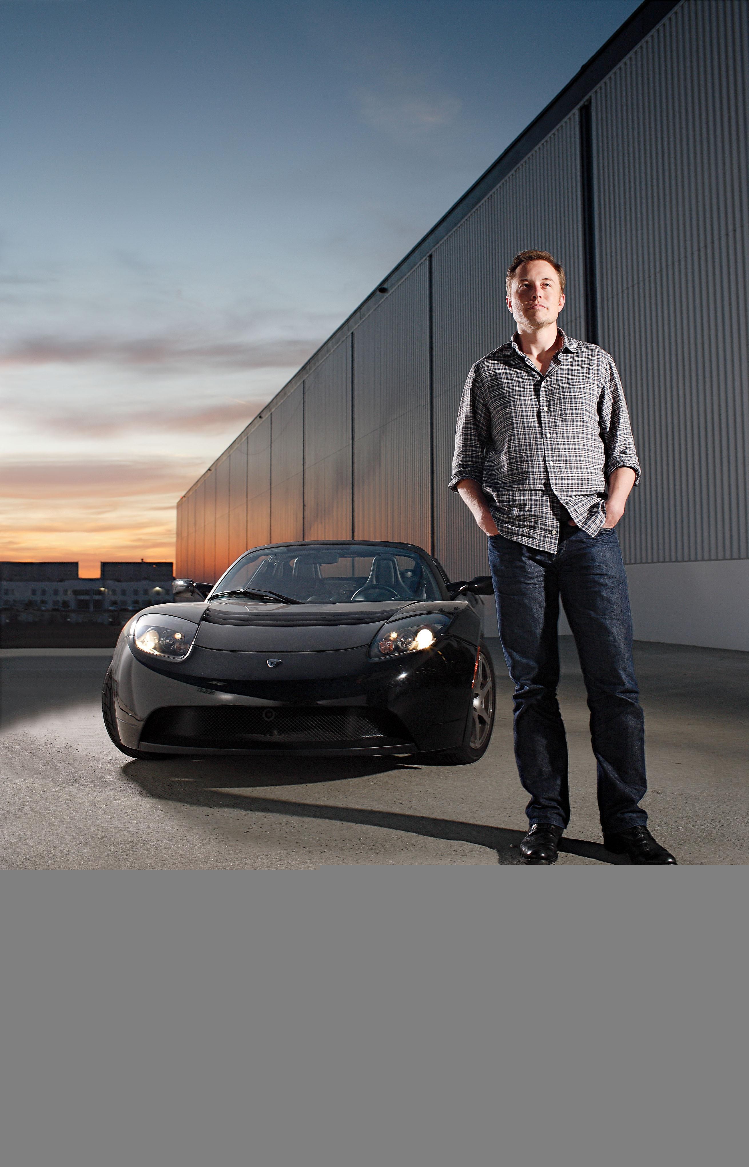 Elon Musk is the CEO of U.K. based electric car company Tesla Motors