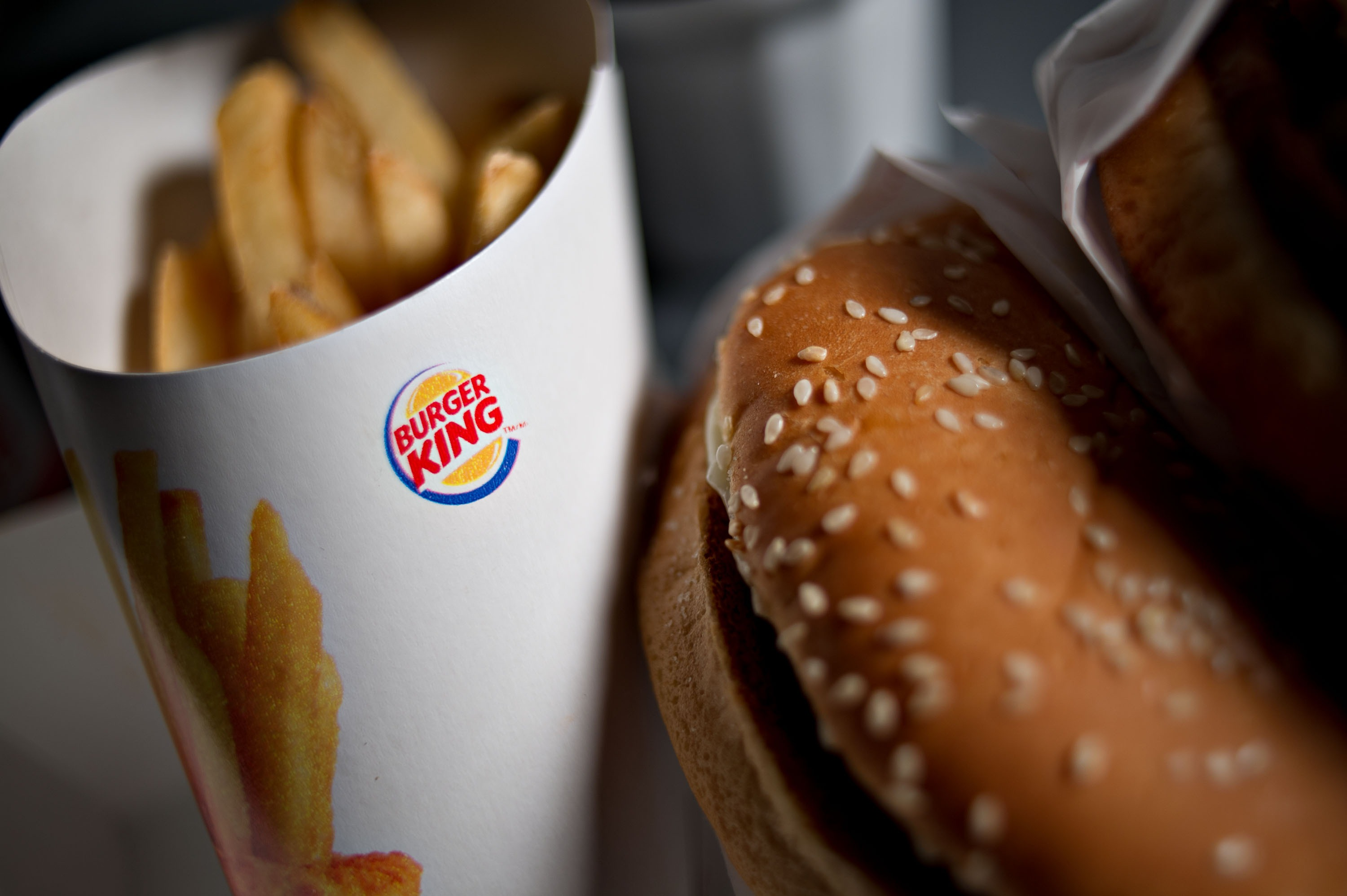 Burger King Worldwide Inc. Products & Signage Ahead Of Earns