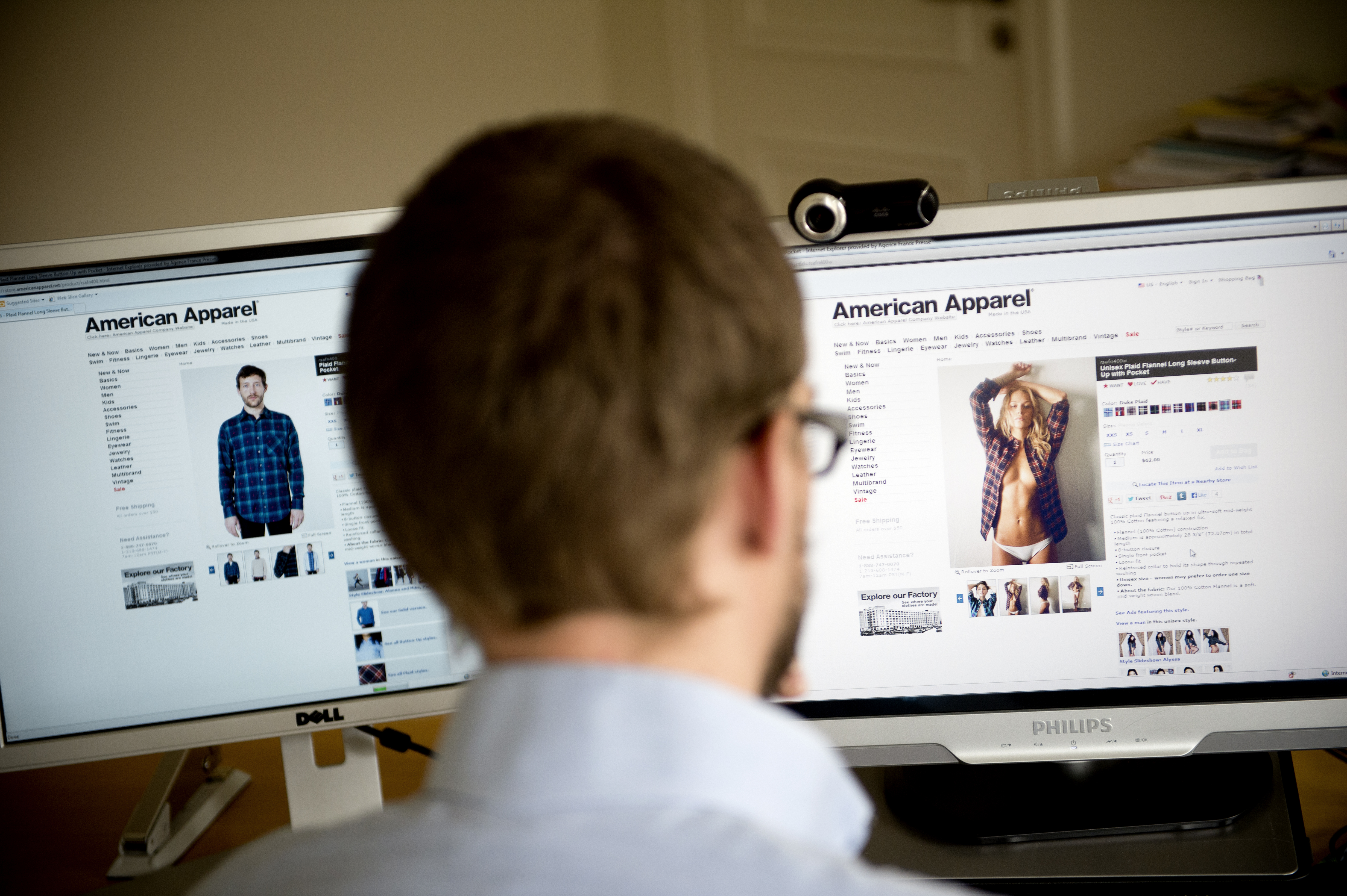 SWEDEN-US-CLOTHING-RETAIL-AMERICAN APPAREL