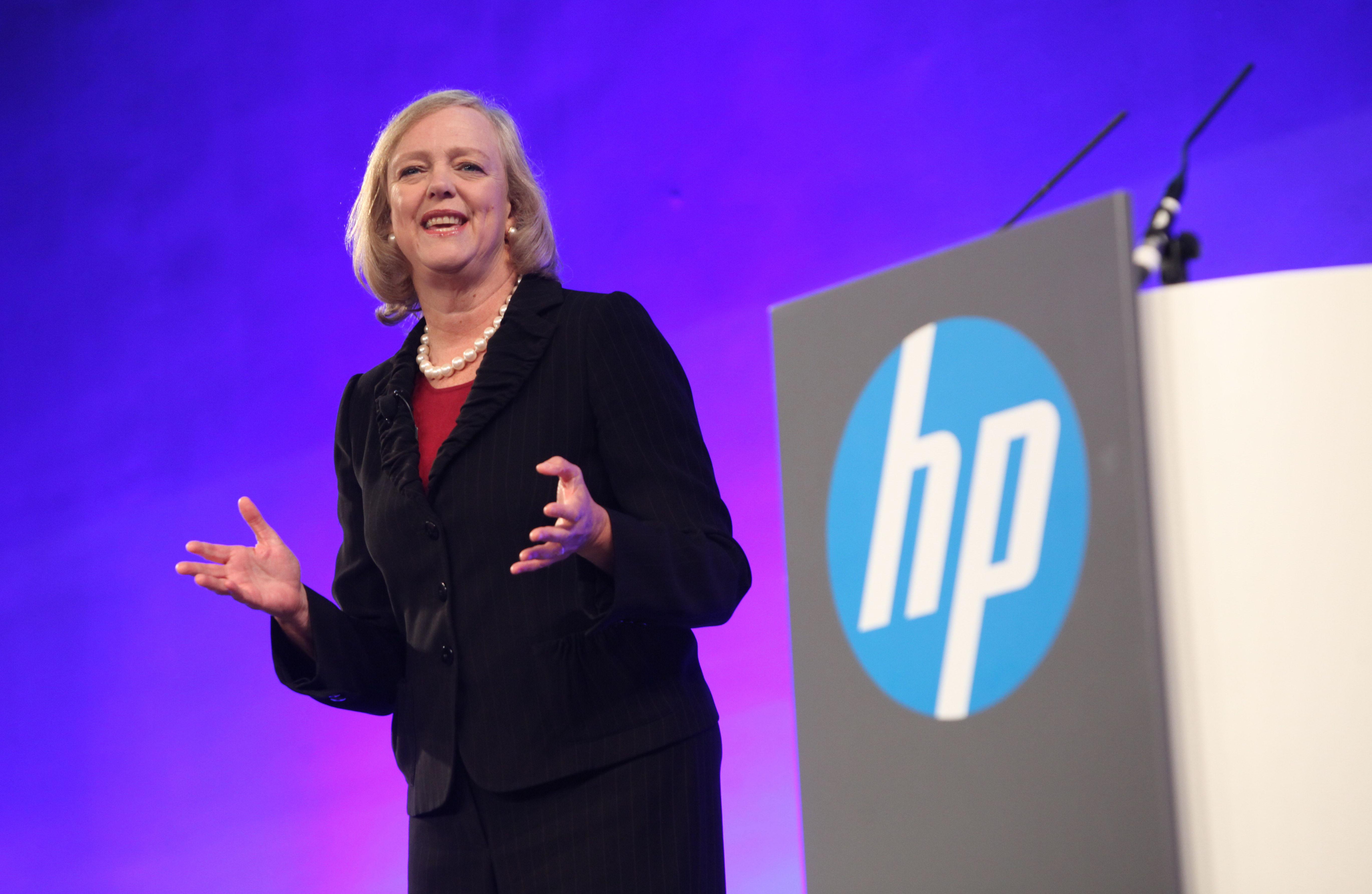 HP CEO Meg Whitman Visits China