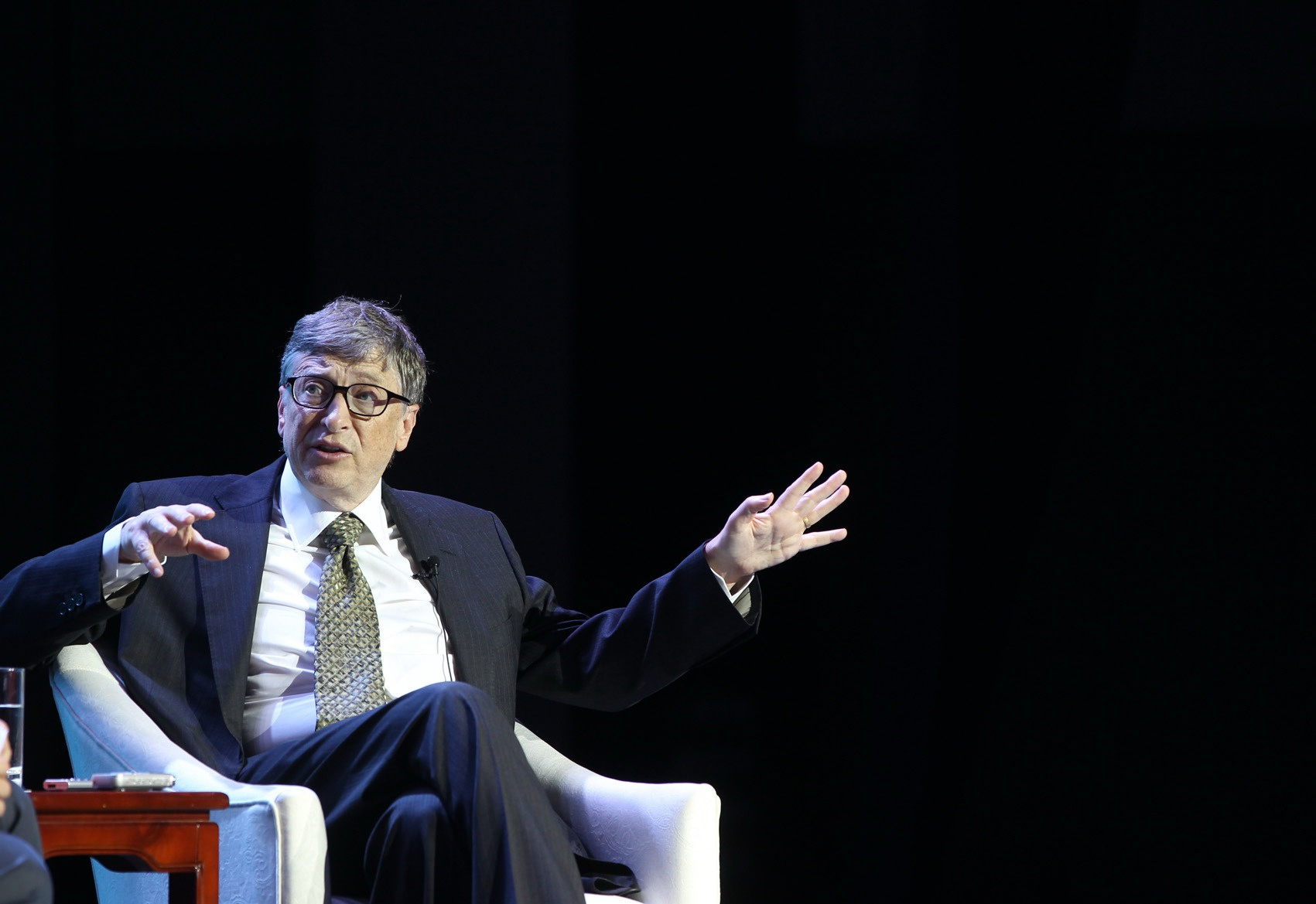 Bill Gates Attends Boao Forum In Qionghai