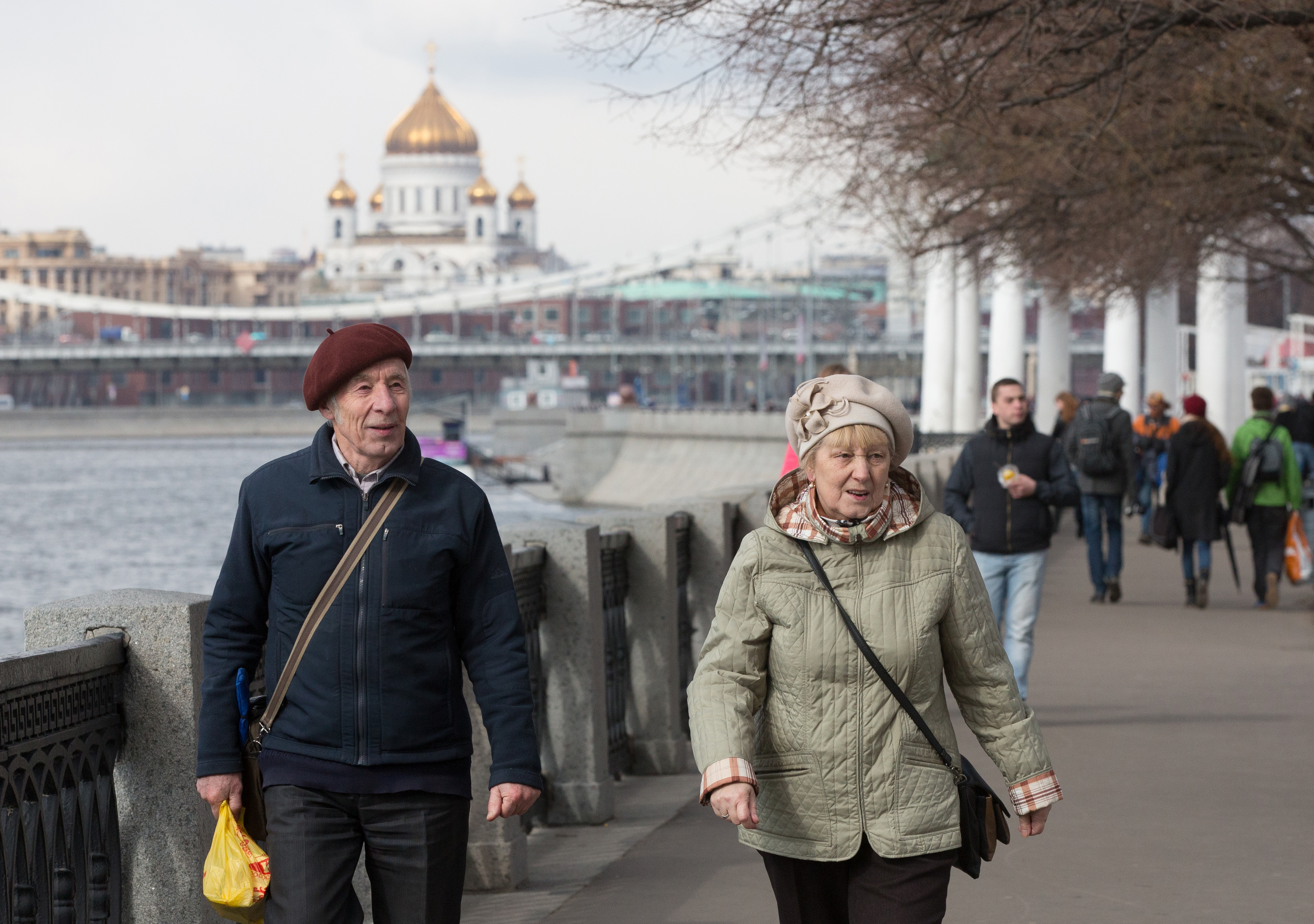 Retirees As Russia Extends Pension-fund Contribution Freeze