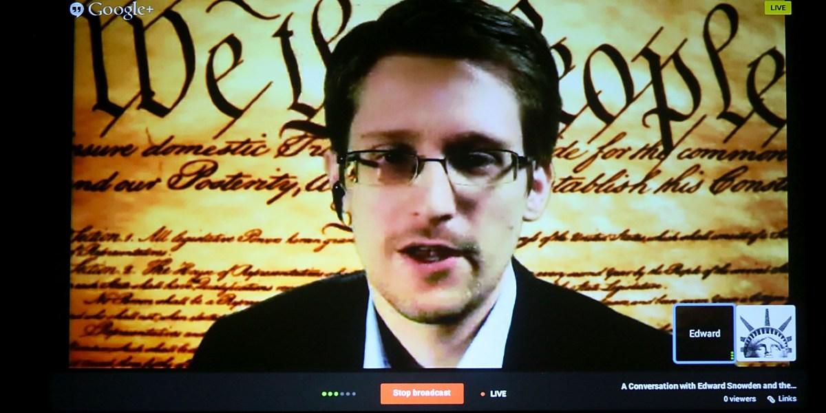 Snowden: FBI Saying It Can't Unlock iPhone is 'Bullsh**'