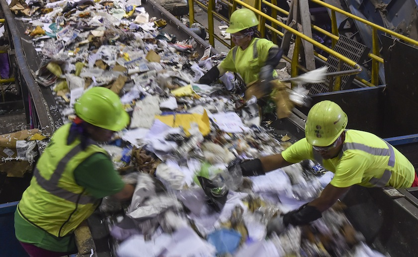 American recycling is in trouble: Can Big Waste fix it