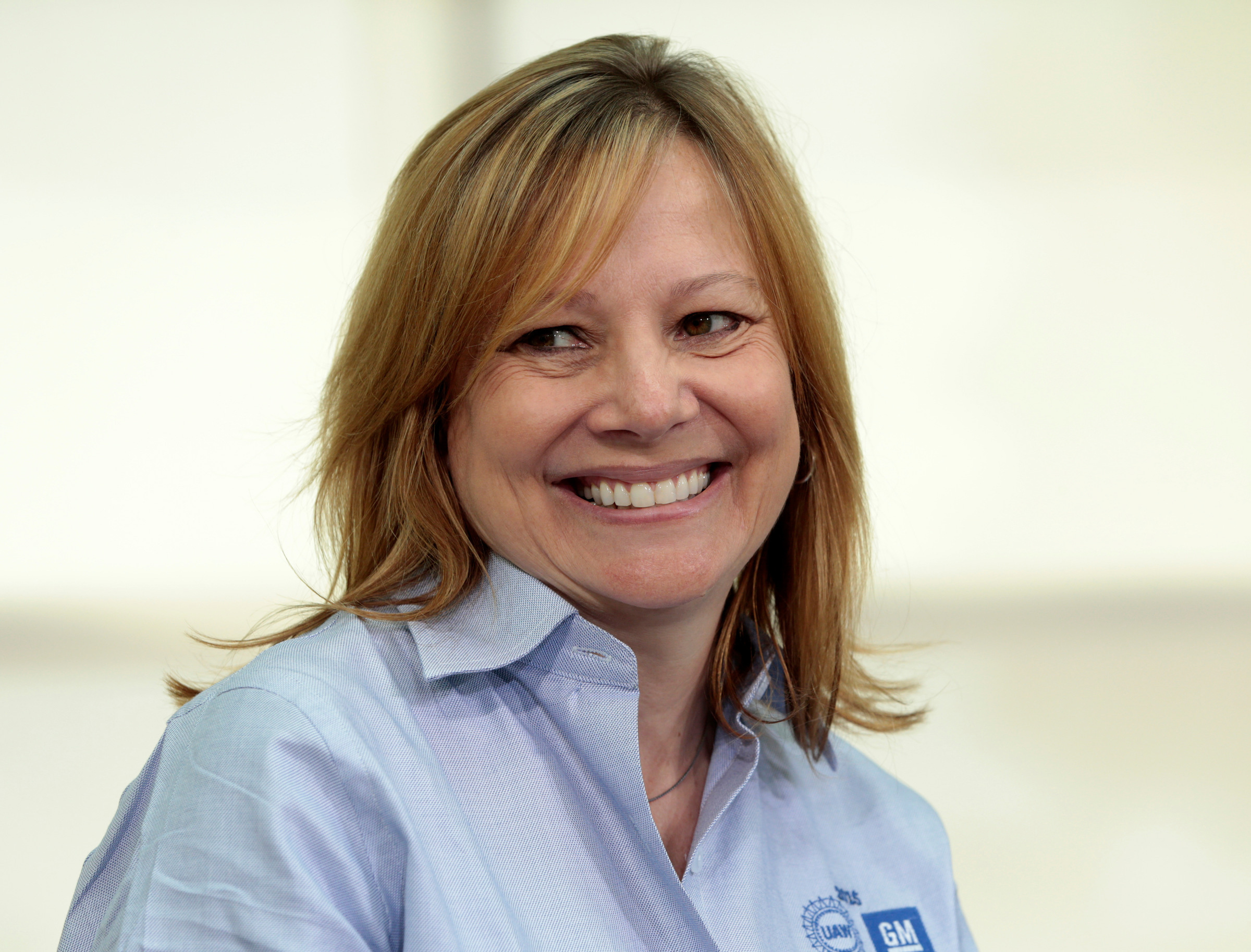 Mary Barra, chief executive officer and chairman of General Motors.