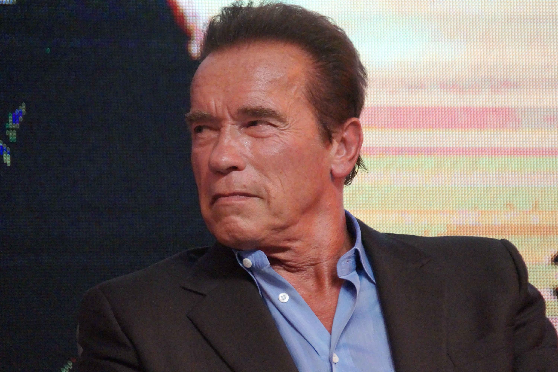 "Arnold Schwarzenegger Attends Shanghai Press Conference Of ""Terminator Genisys"""