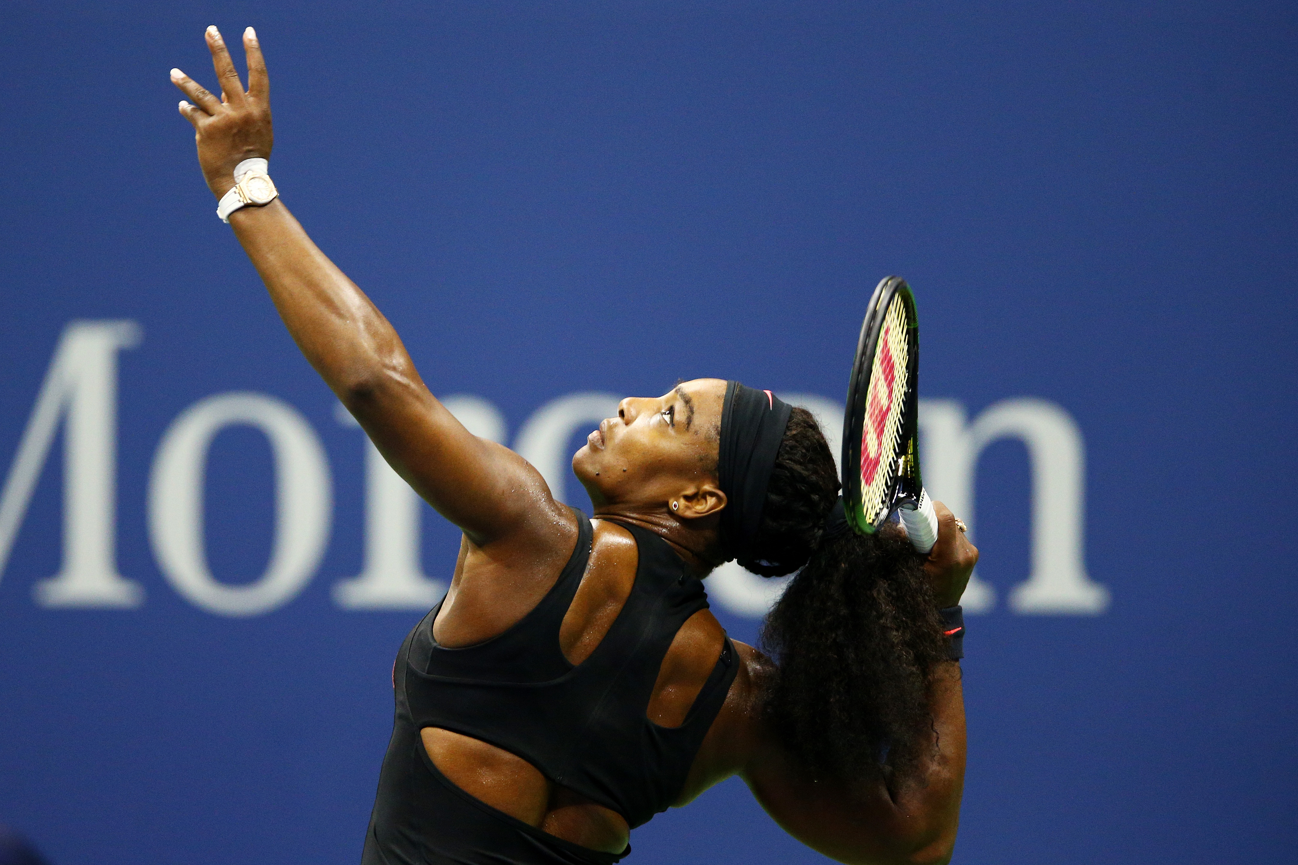 on Day Nine of the 2015 US Open at the USTA Billie Jean King National Tennis Center on September 8, 2015 in the Flushing neighborhood of the Queens borough of New York City.