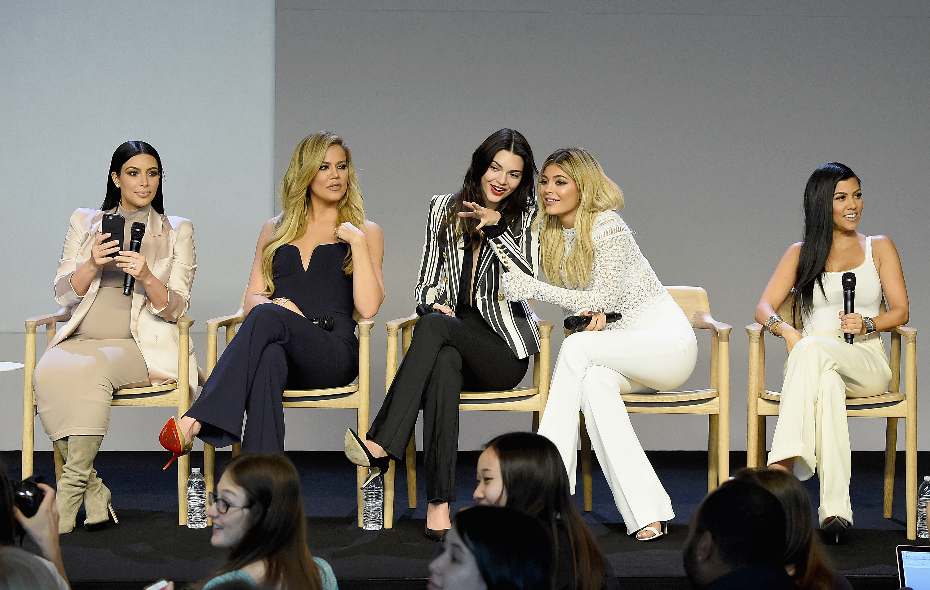 Apple Store Soho Presents Meet The Developers: Kim Kardashian, Kourtney Kardashian, Khloe Kardashian, Kendall Jenner & Kylie Jenner