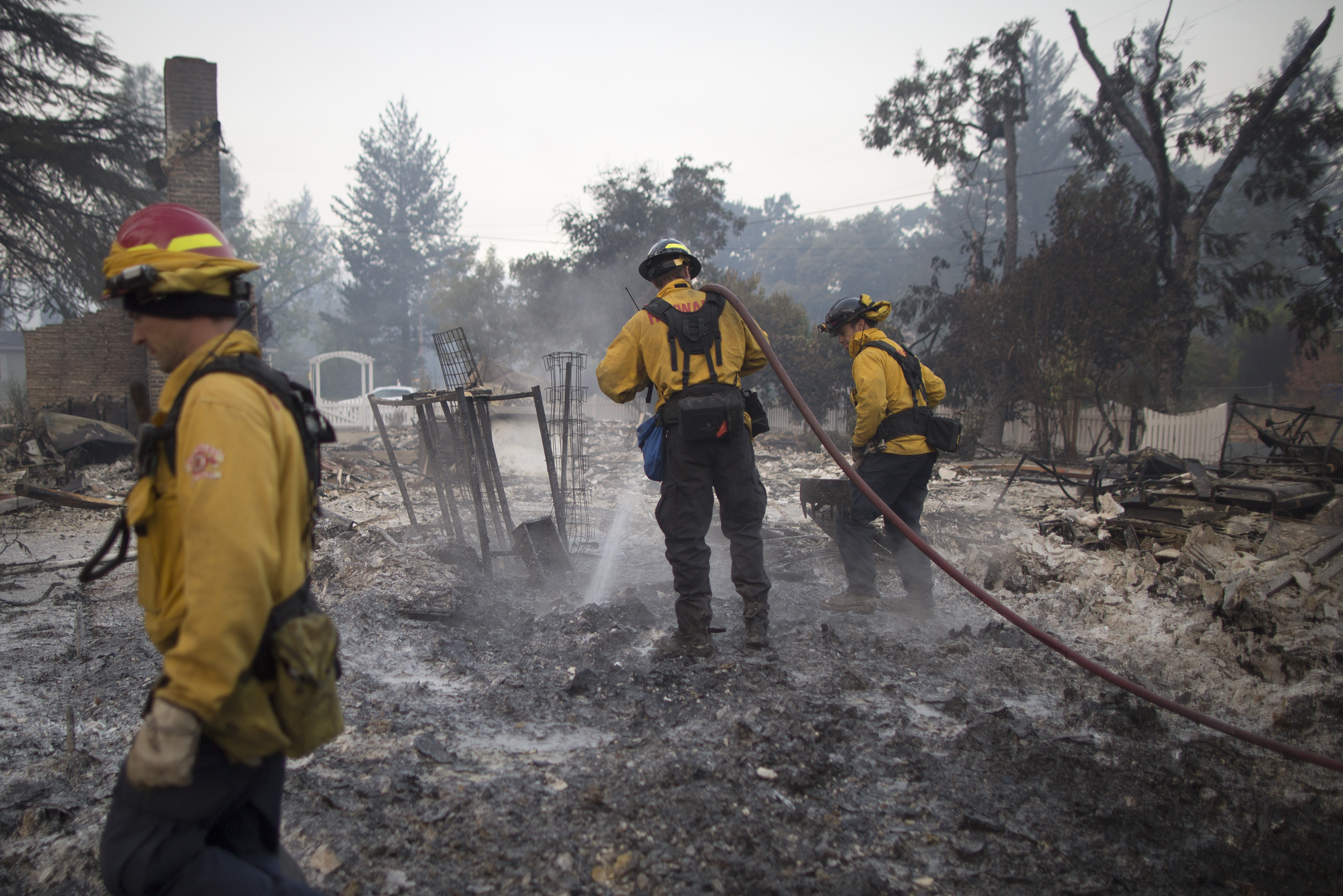 Fast-Moving Wildfire Brings Destruction To Lake County, CA