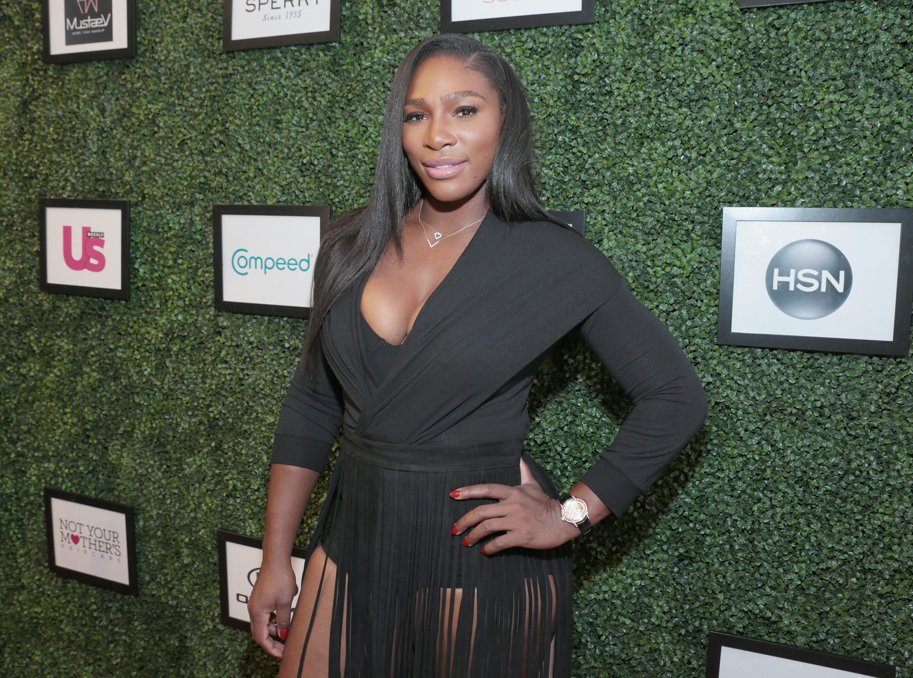 A Walks the runway as KIA STYLE360 Hosts Serena Williams Signature Collection By HSN on September 15, 2015 in New York City.