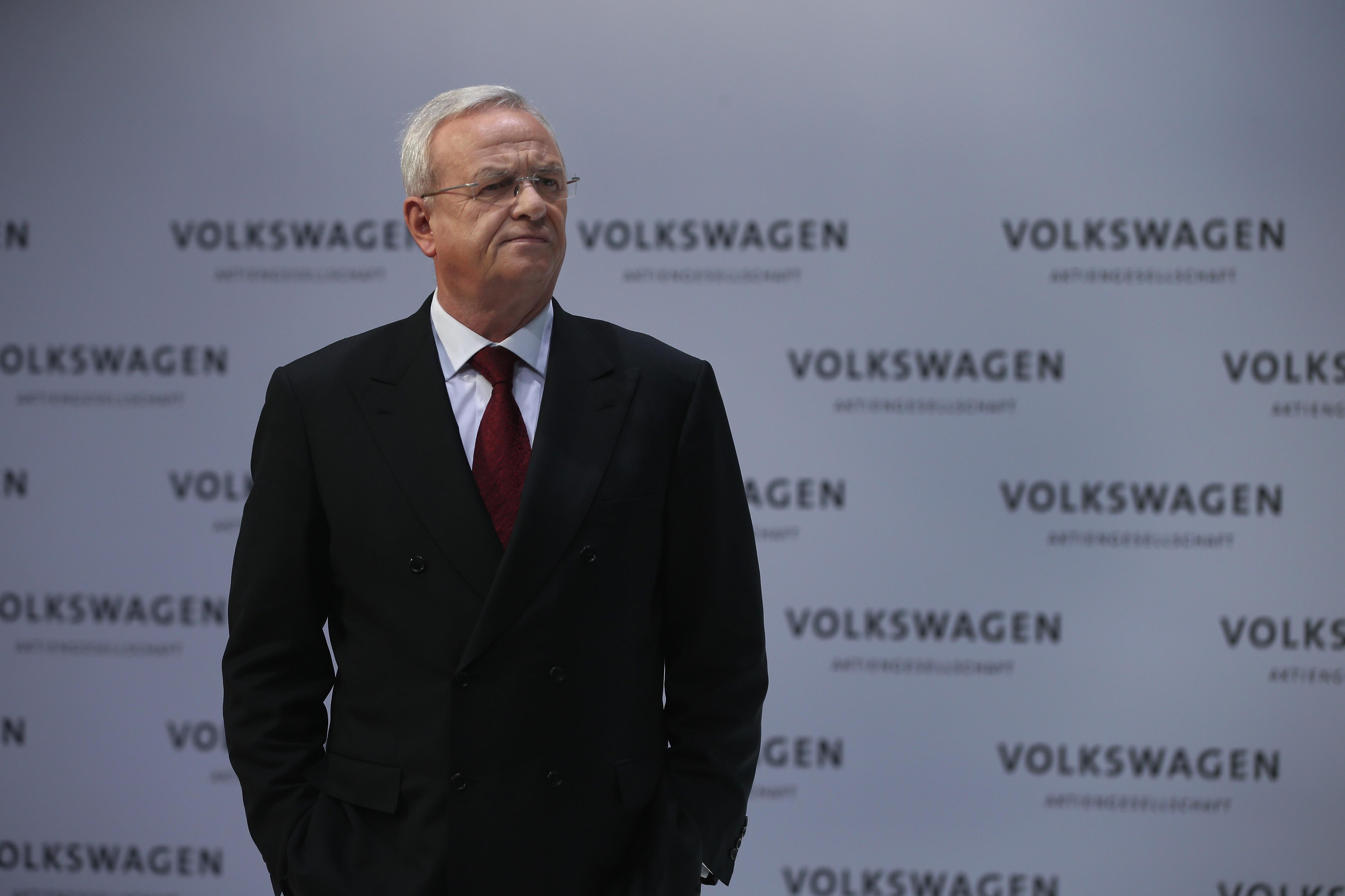 Volkswagen former CEO Martin Winterkorn.