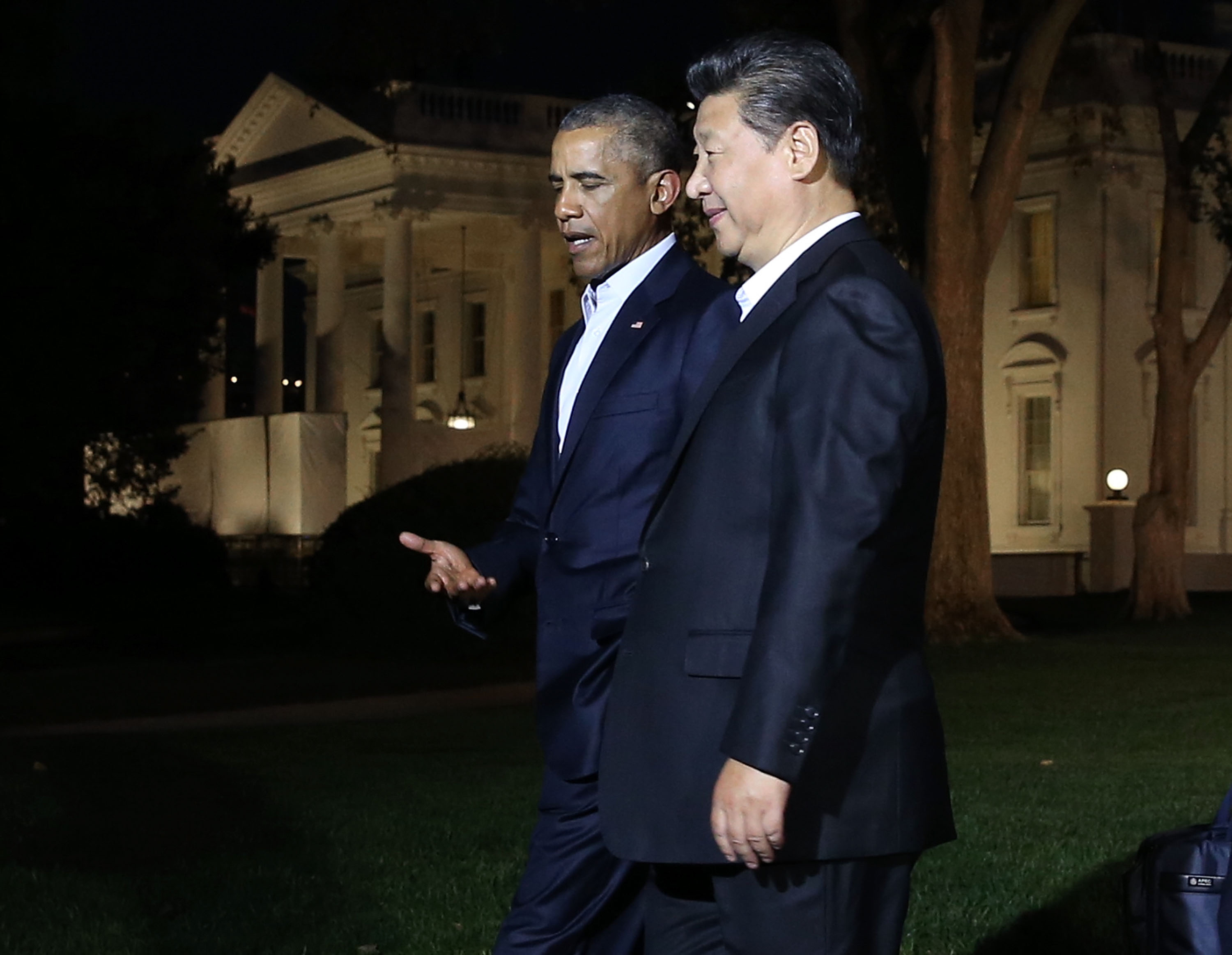 Chinese President Xi Jinping Meets With President Obama At The White House