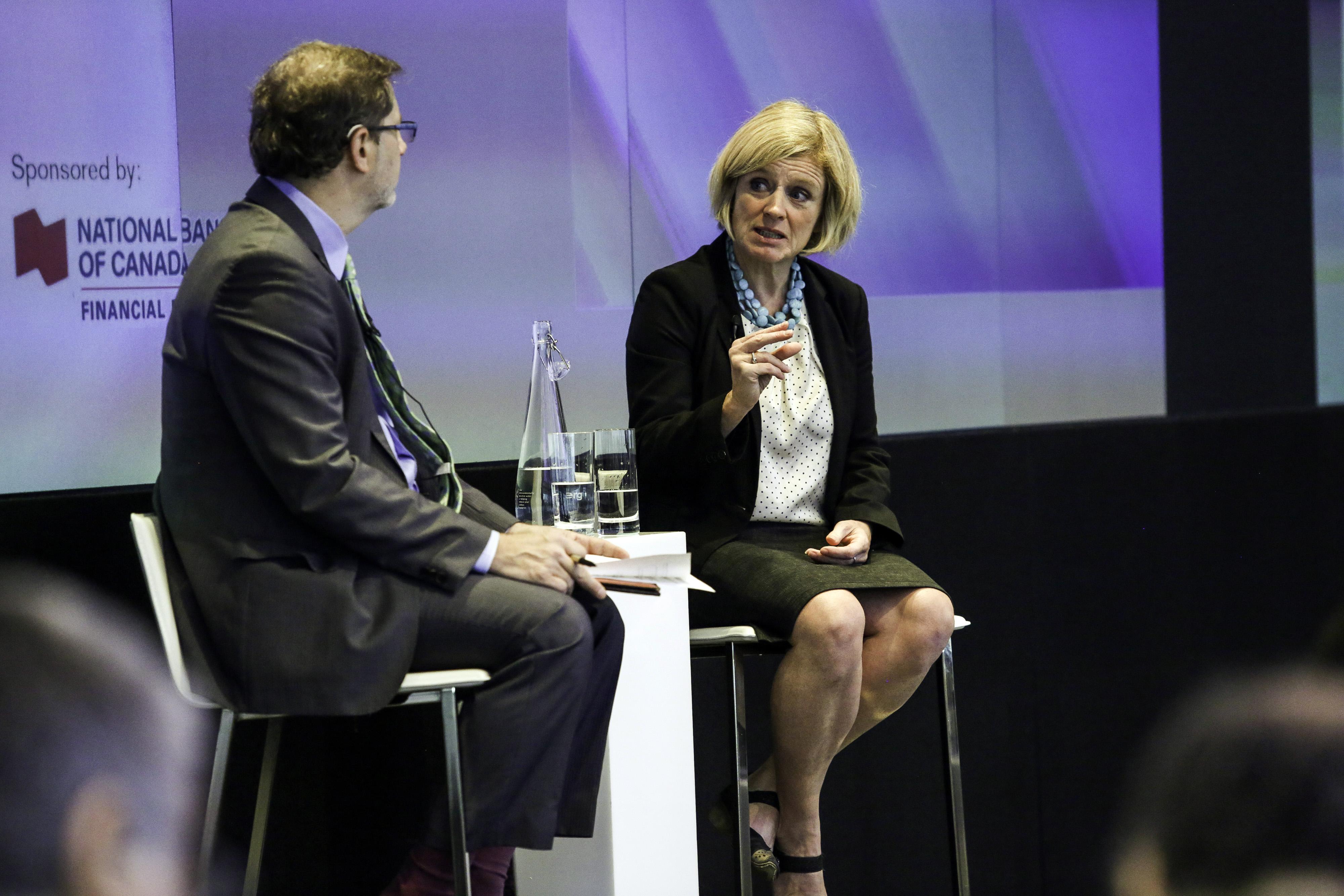 Alberta Premier Rachel Notley Interview