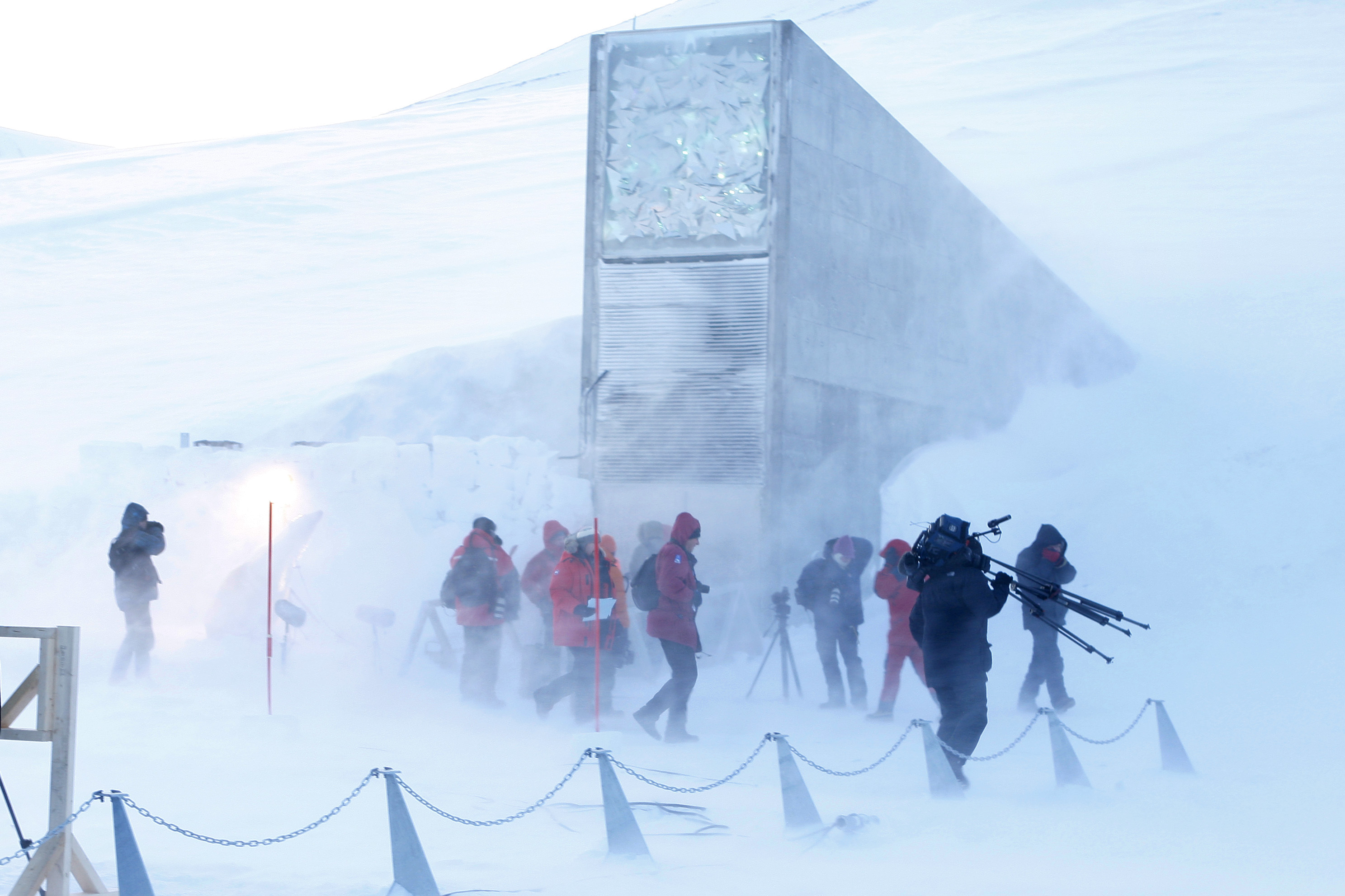 The Svalbard Global Seed Vault Opens For The First Time Fortune