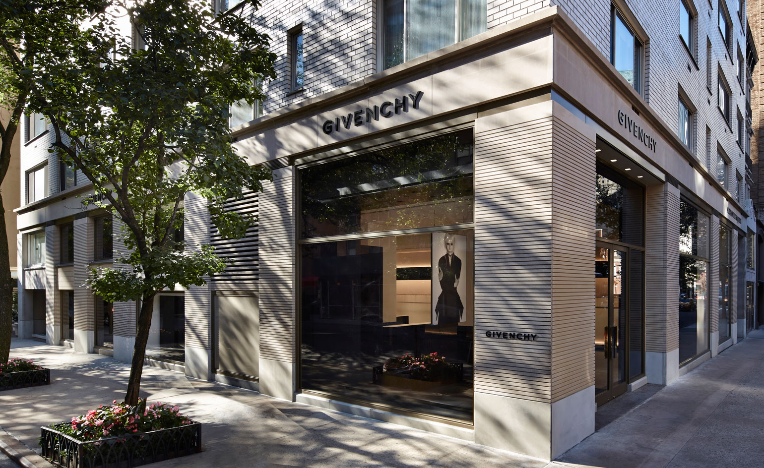 Givenchy's new flagship store in Manhattan's Upper East Side.