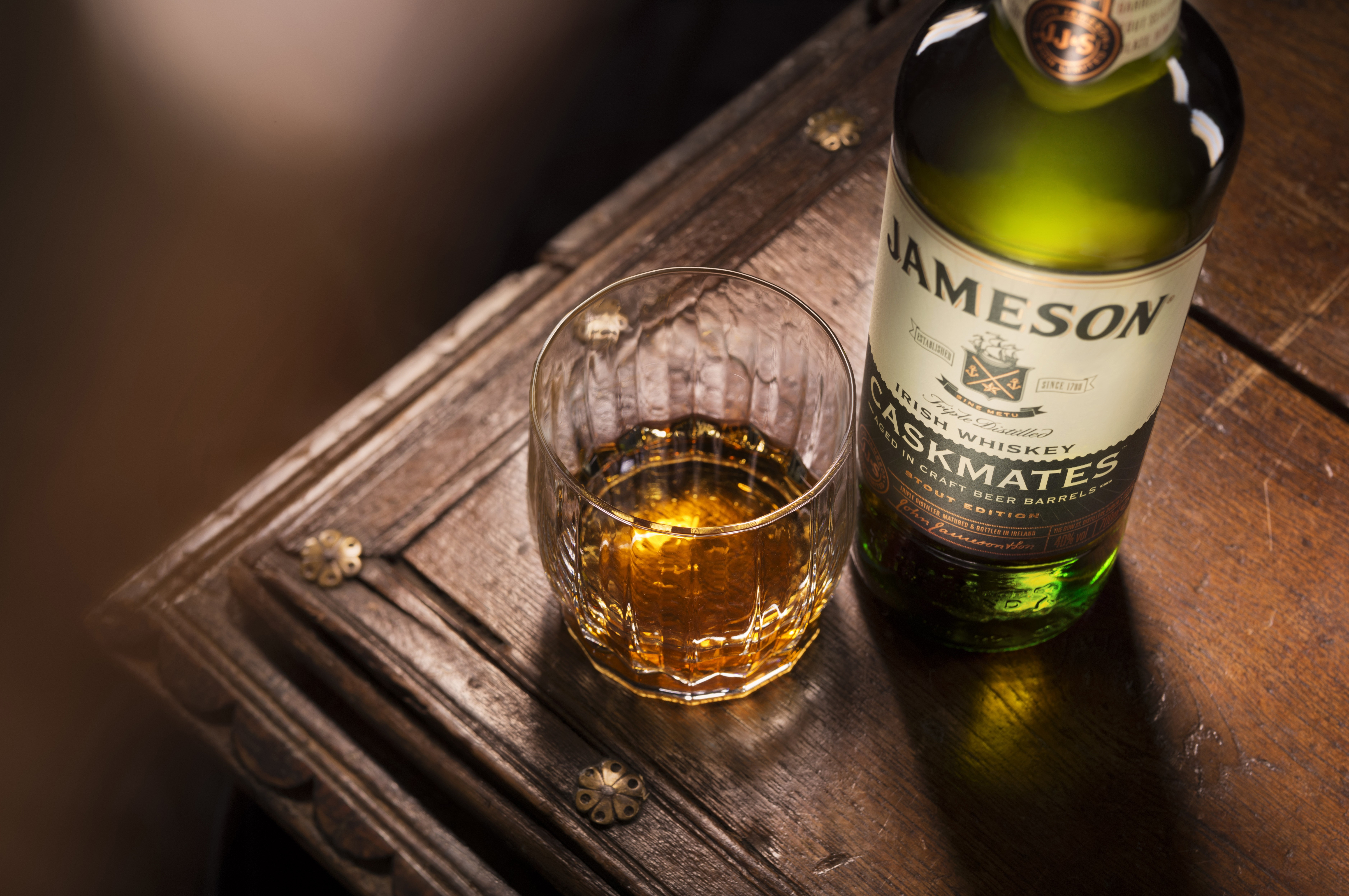 Jameson Caskmates, a new Irish whiskey by Pernod Ricard, has gone national in the U.S.