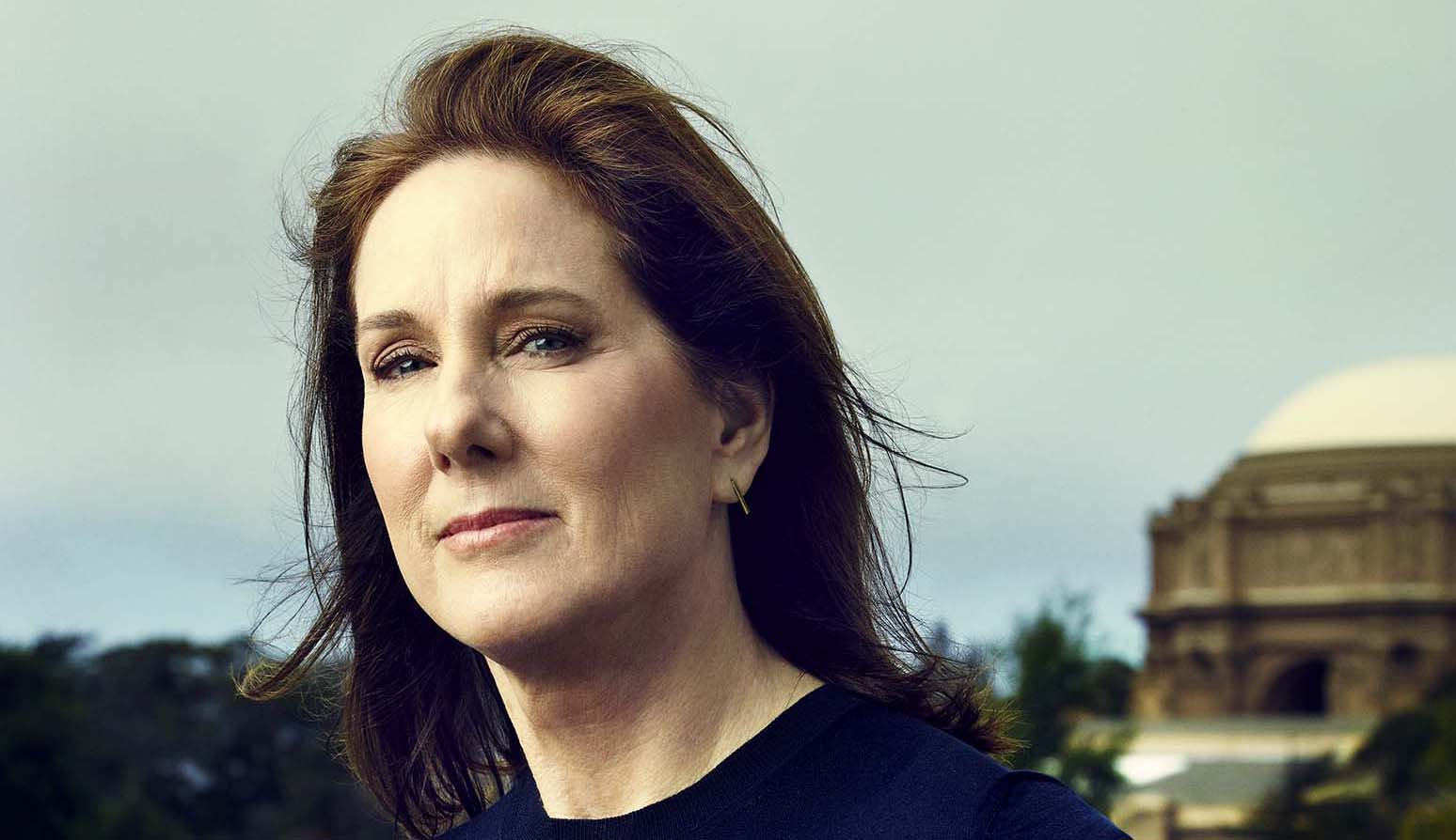 Kathleen Kennedy, head of Lucasfilm and producer of the upcoming Star Wars movie, The Force Awakens