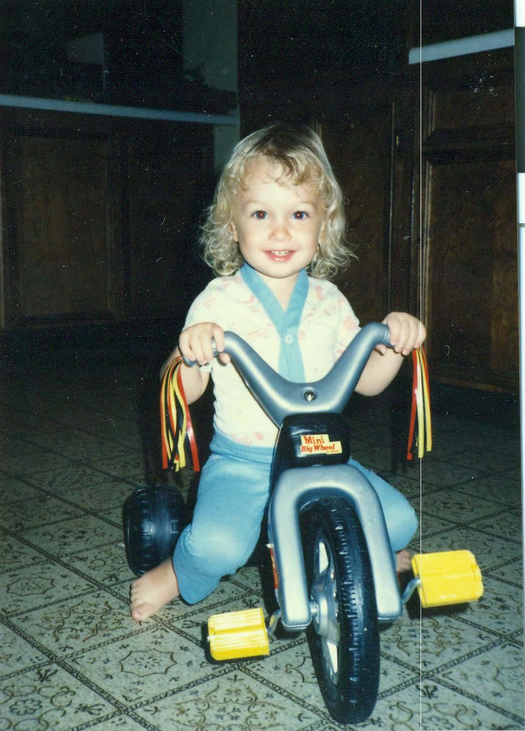 Logan - big wheel driver
