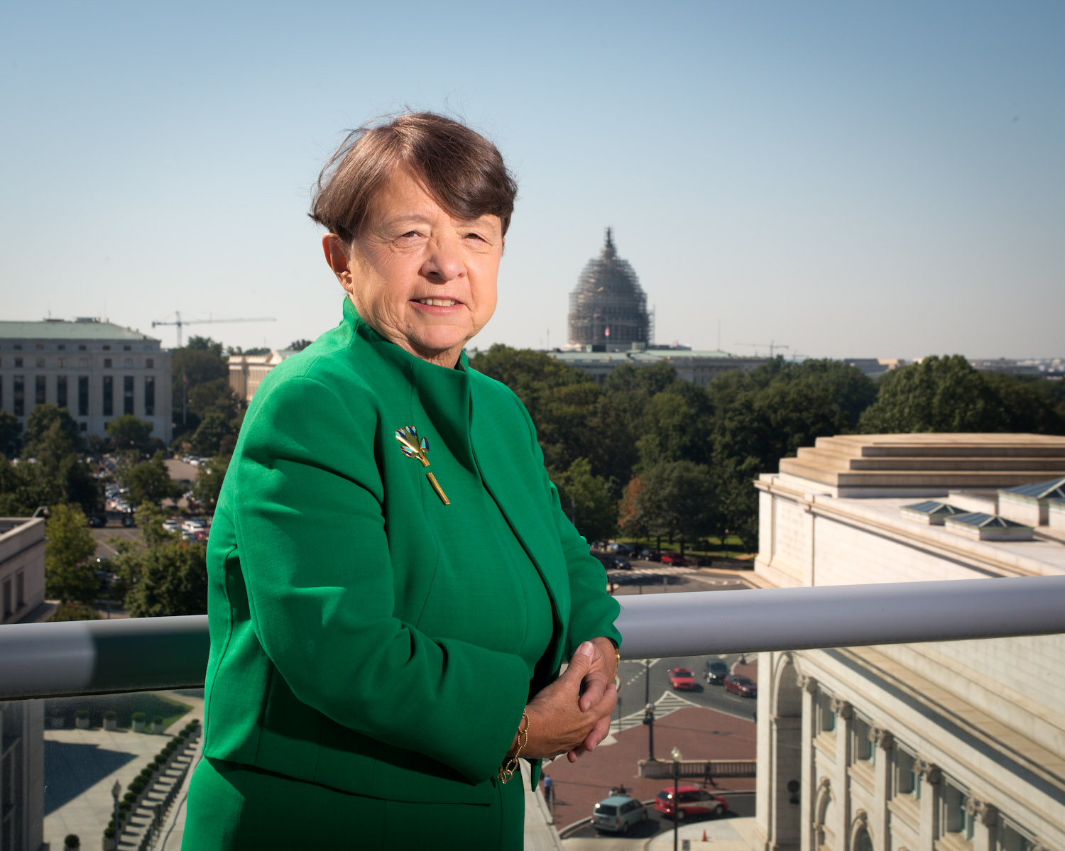 September 16, 2015 - SEC Chairwoman Mary Jo White at her office in the SEC Building near Union Station in NE Washington, DC.Photo by Susana Raab