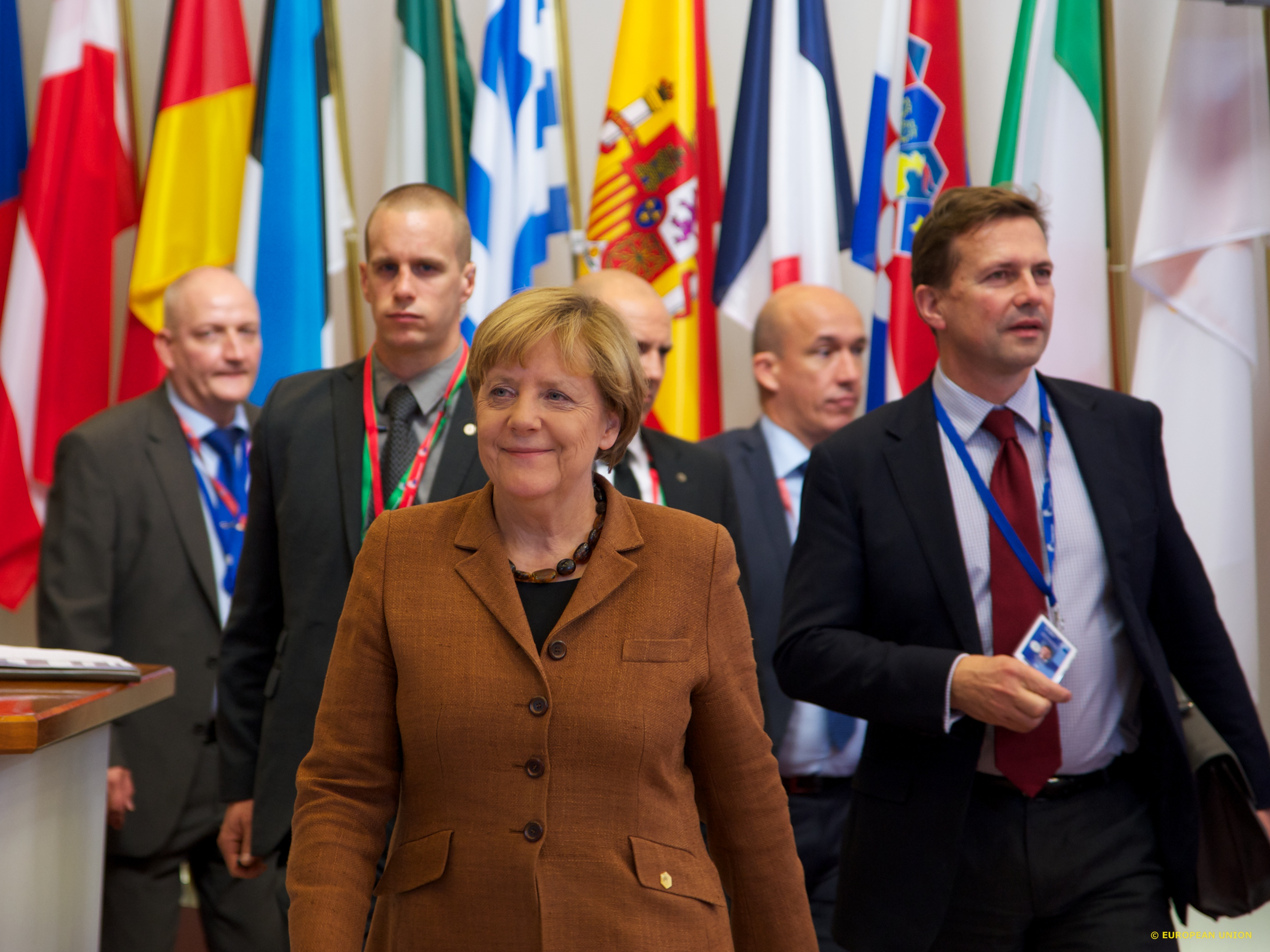 Angela Merkel is now rowing back from her initial open-armed reaction to the migrant crisis.