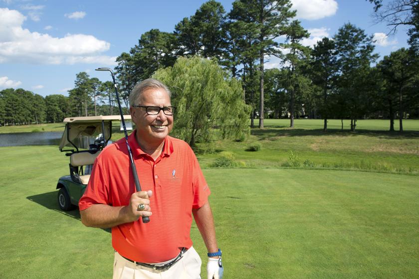 Pro-File: Ron Jaworski, former NFL playerPortraitBlue Heron Pines Golf Club/Egg Harbor City, NJ, USA7/22/2015X159803 TK1Credit: Jessica Kourkounis