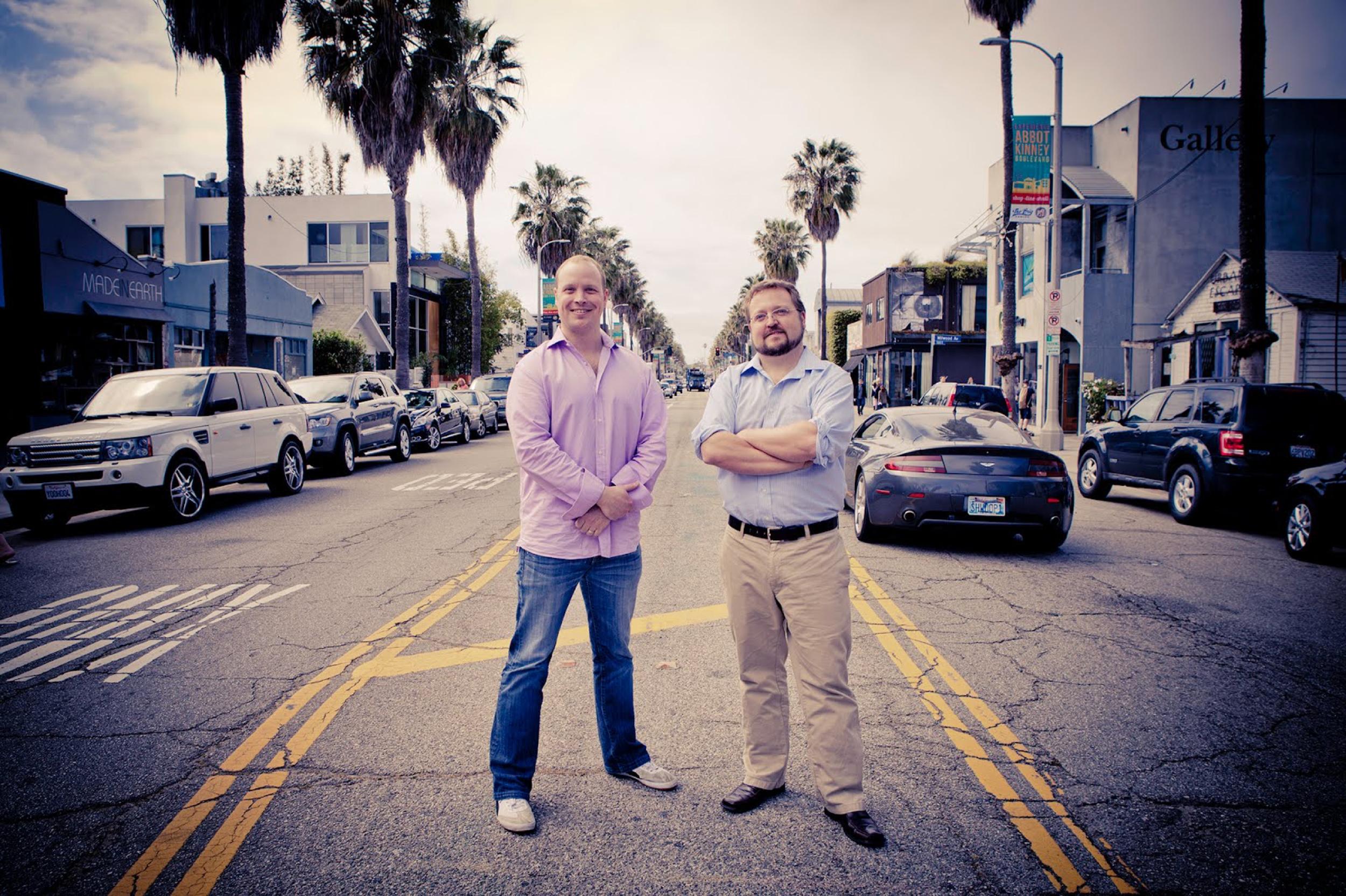 Bitium CEO Scott Kriz and CTO Erik Gustavson