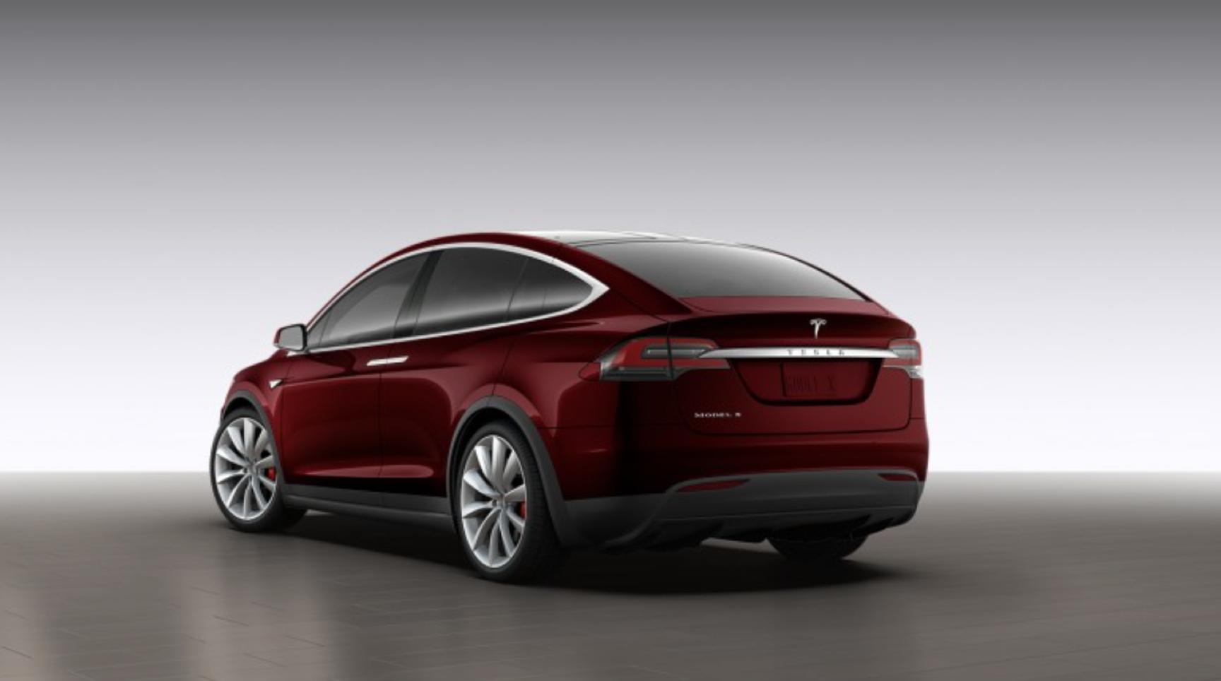 Tesla' Model X.