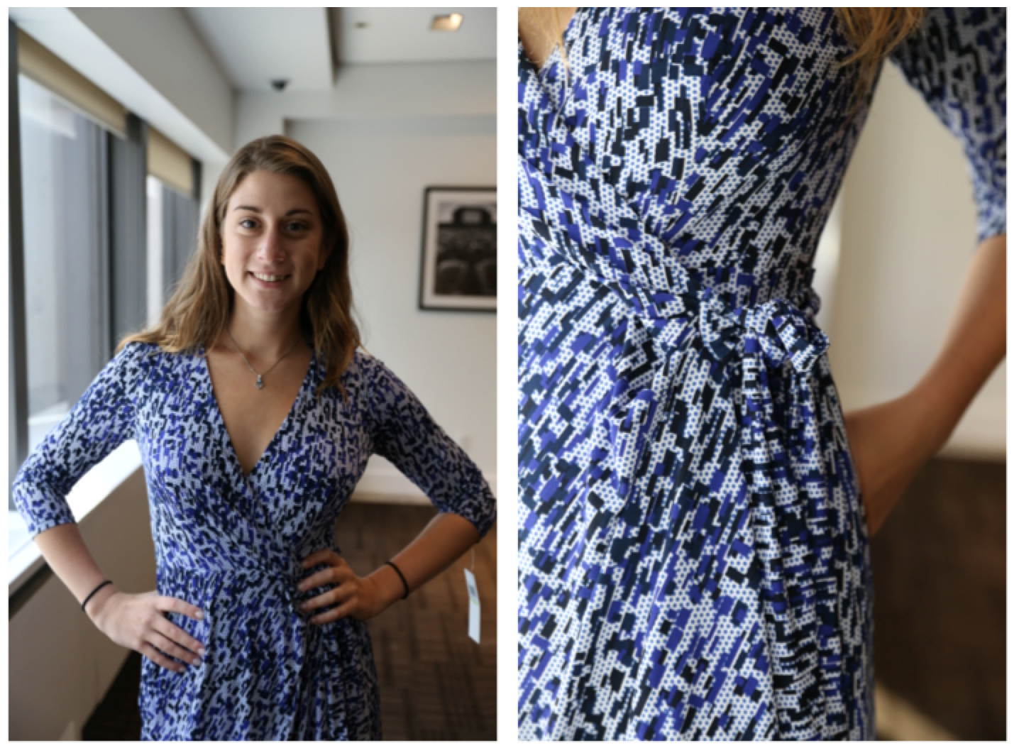 Ivy & Blu wrap dress ($56); photo by Marina Zarya (Time Inc)