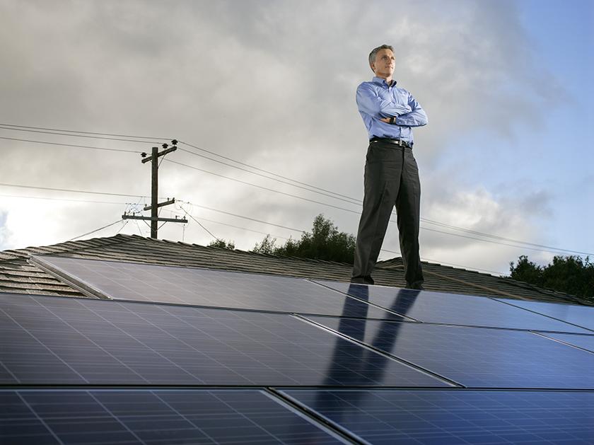 Lyndon Rive, Solar City