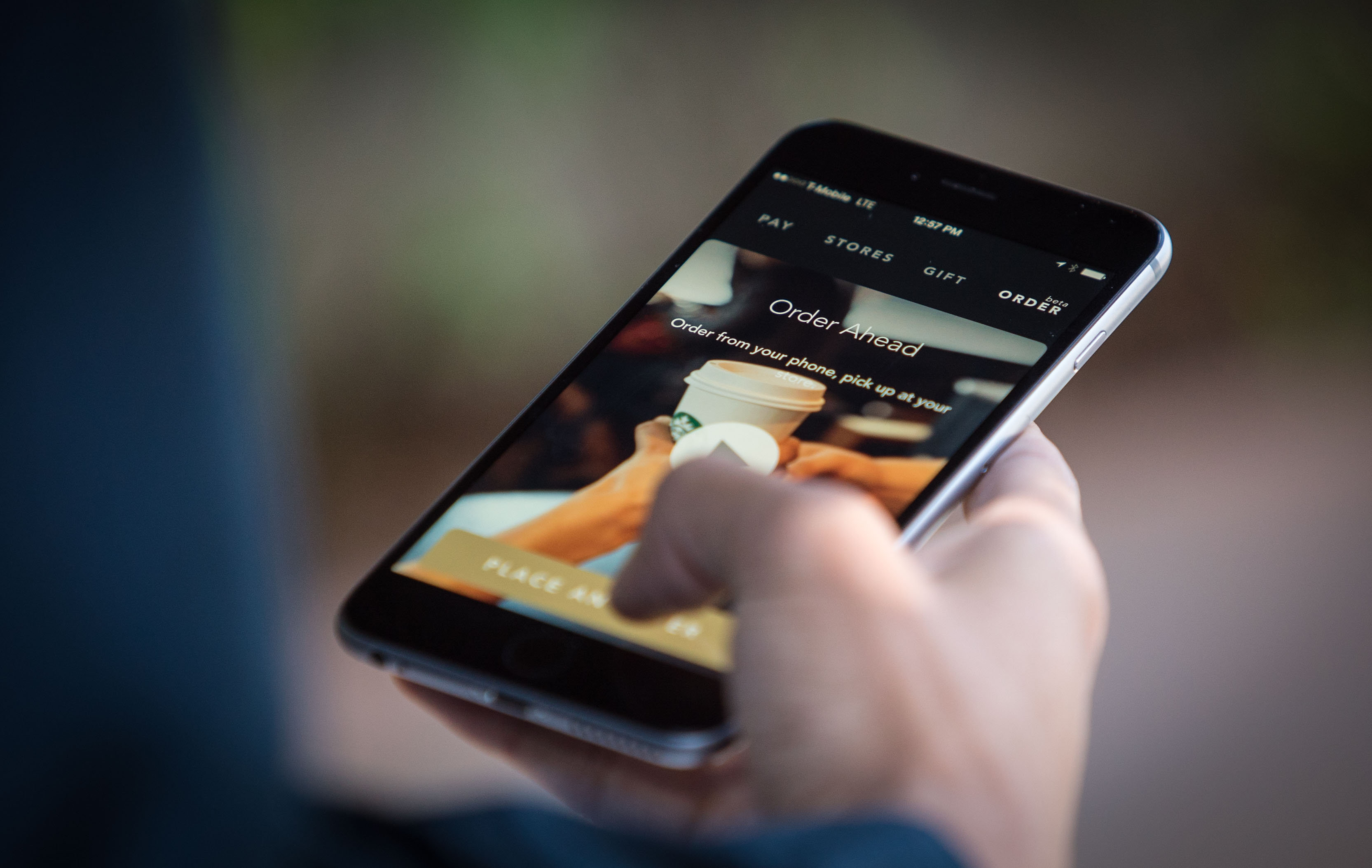 Starbucks Mobile Ordering and Payment App Available