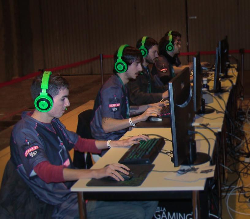 YouPorn-sponsored TeamYP plays Valve's Dota 2 eSports title.