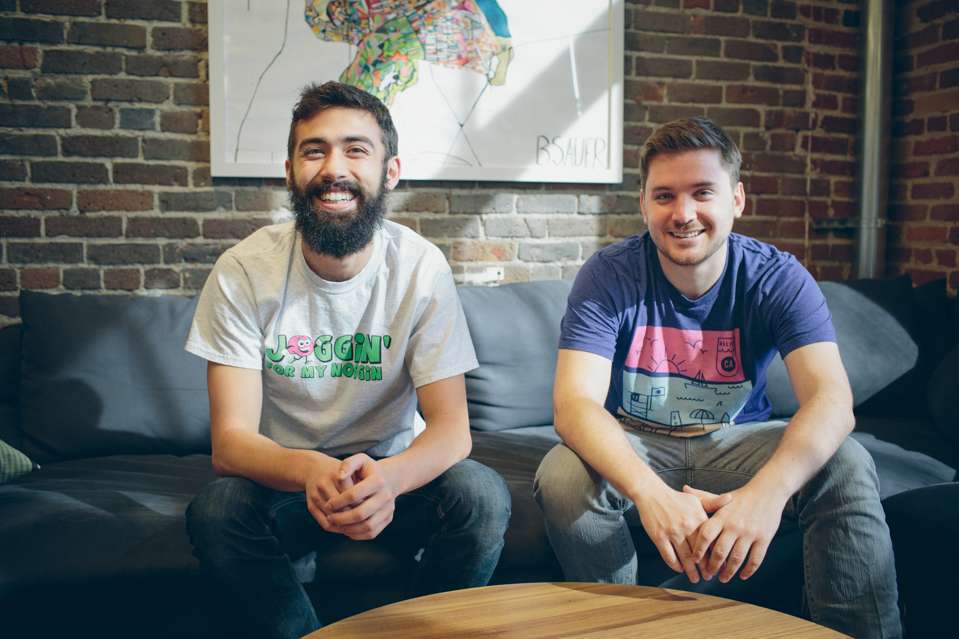 Teespring co-founders Evan Stites-Clayton (left) and Walker Williams (right)