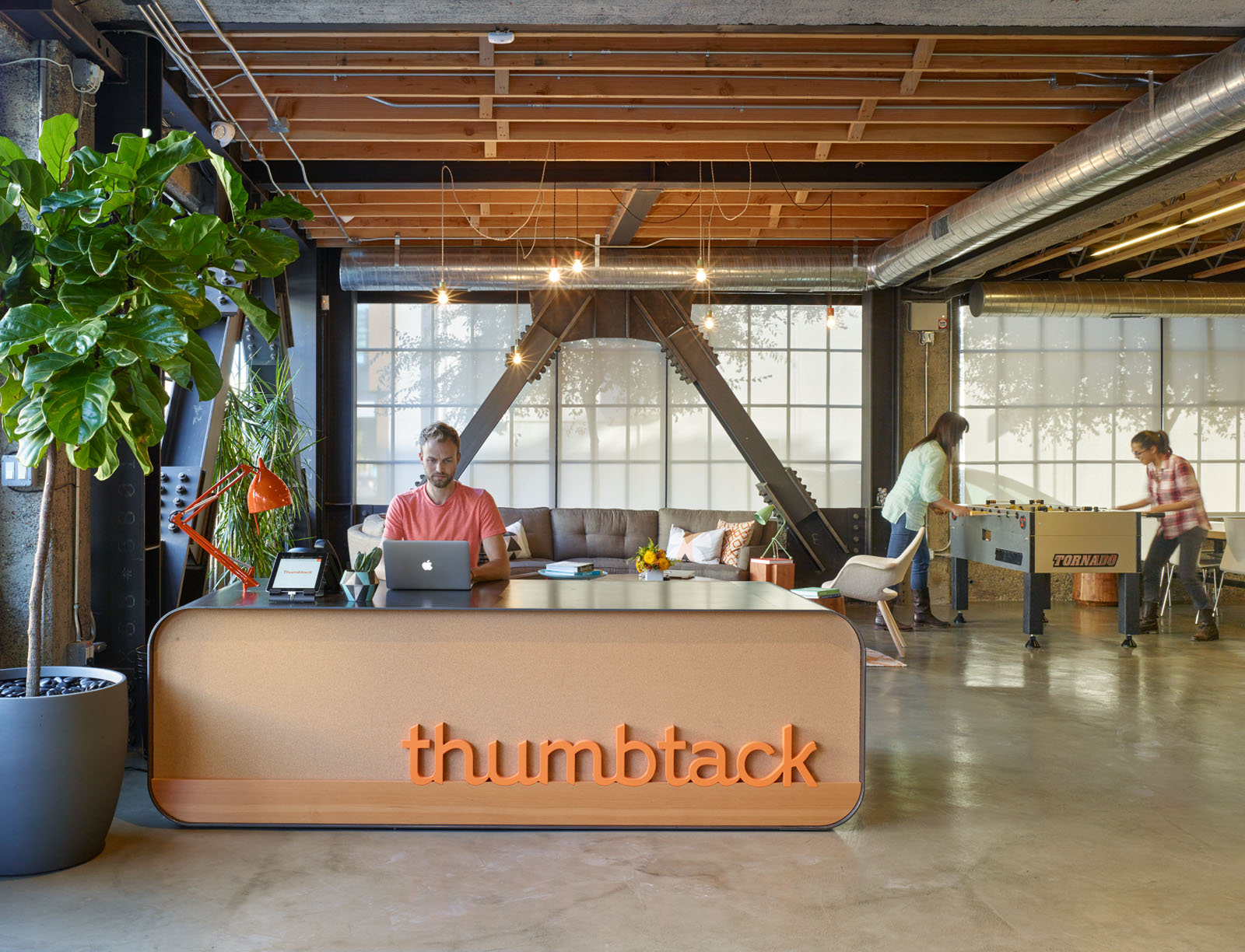 Thumbtack's headquarters in San Francisco.