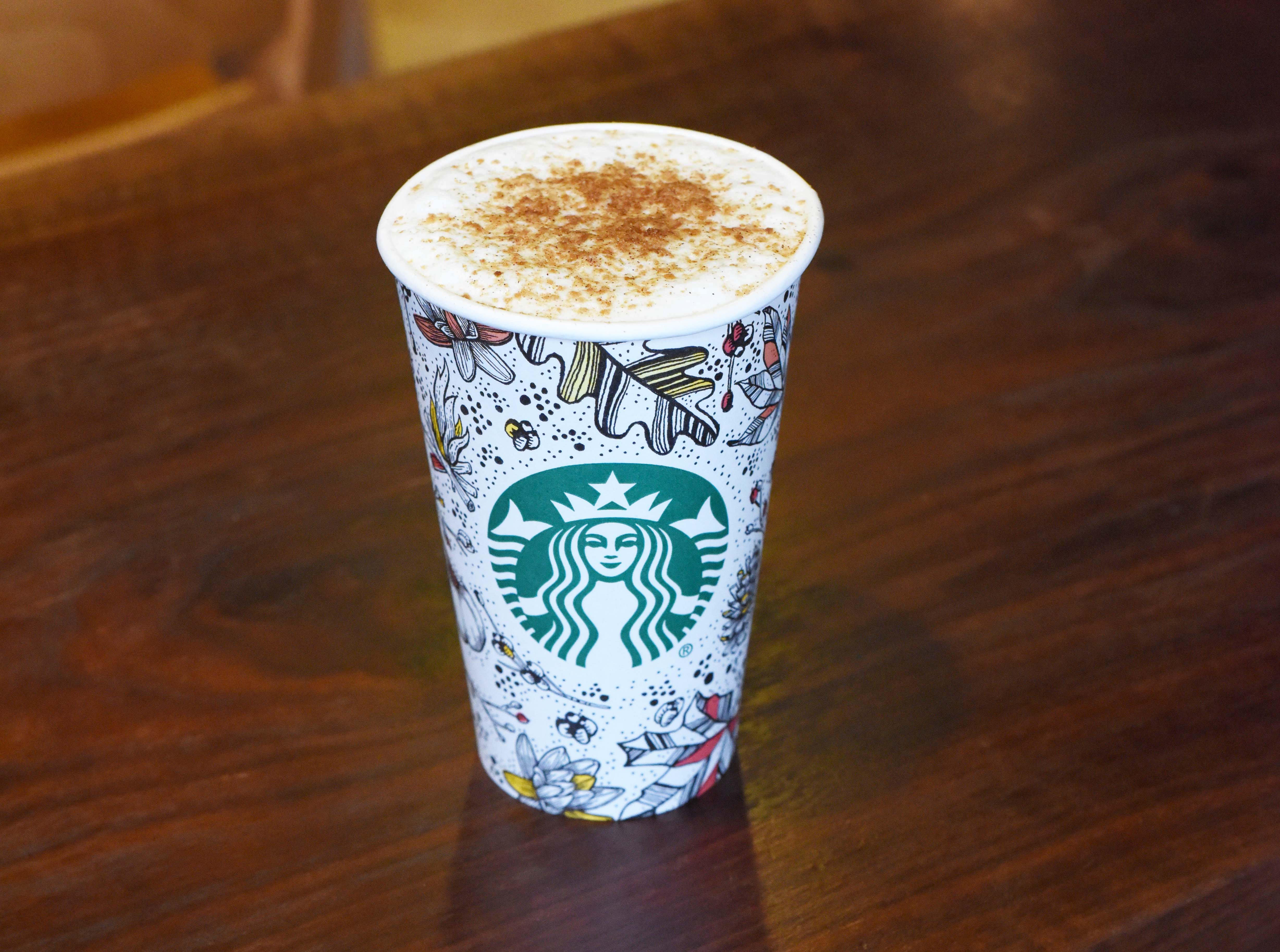 The new Toasted Graham Latte