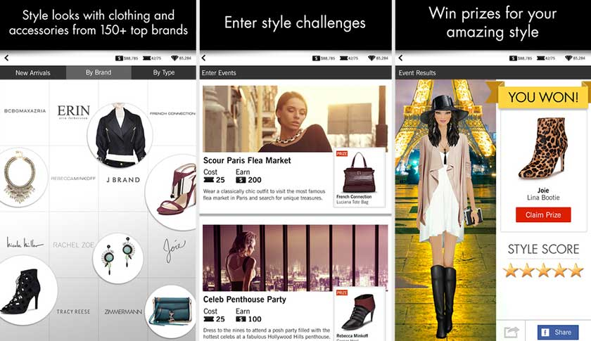 Covet Fashion: mobile game partners with an NY Fashion Week