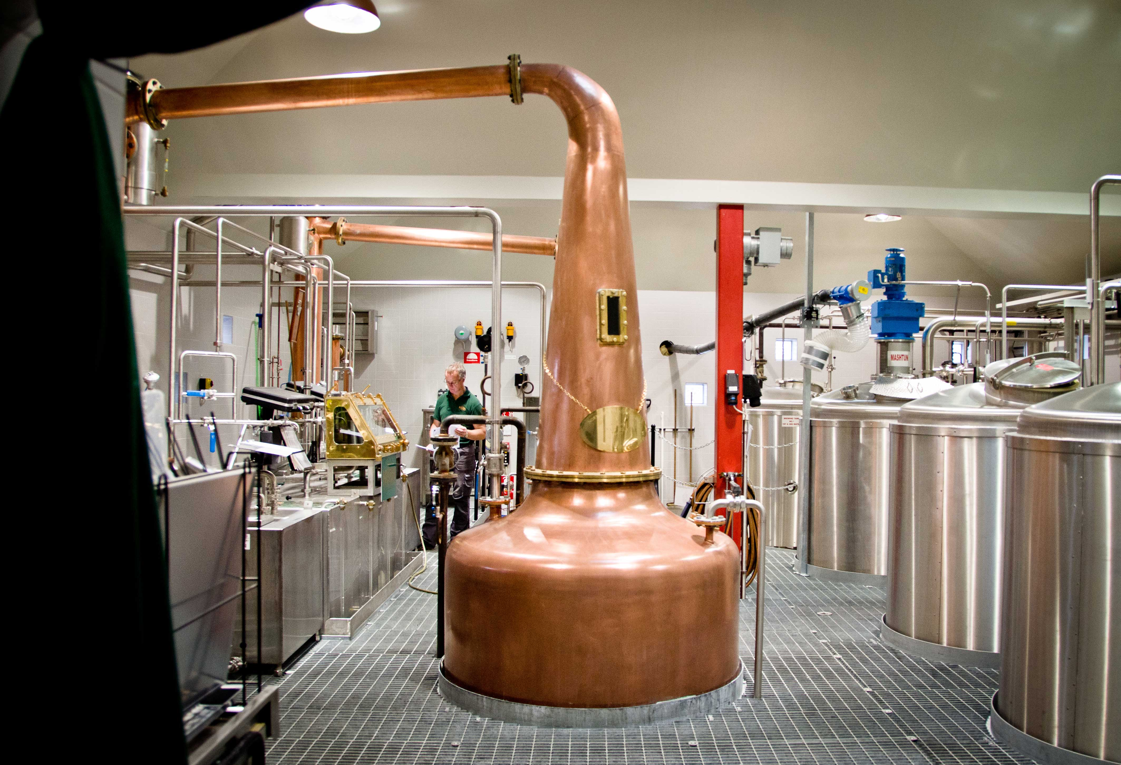 Backafallsbyn distillery
