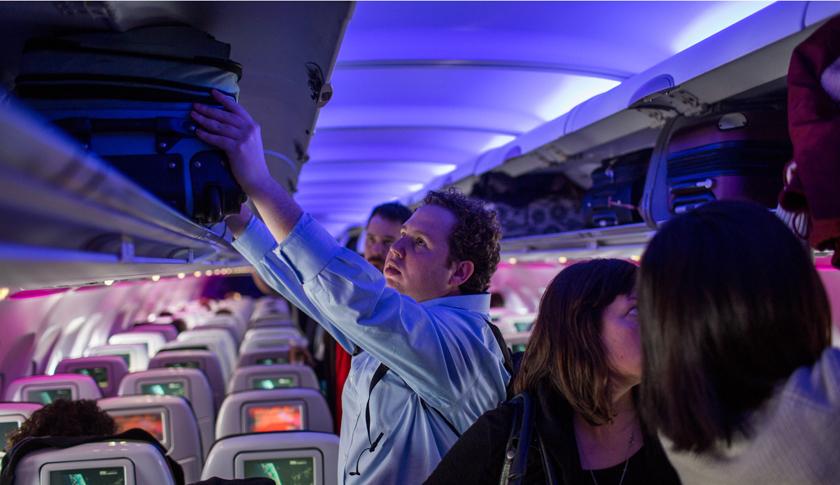 Virgin America Flight