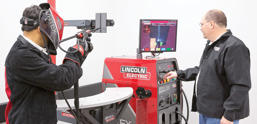 When using a virtual welding training system, the instructor has the ability to view the weld in real time without having to crowd into a booth with the trainee.