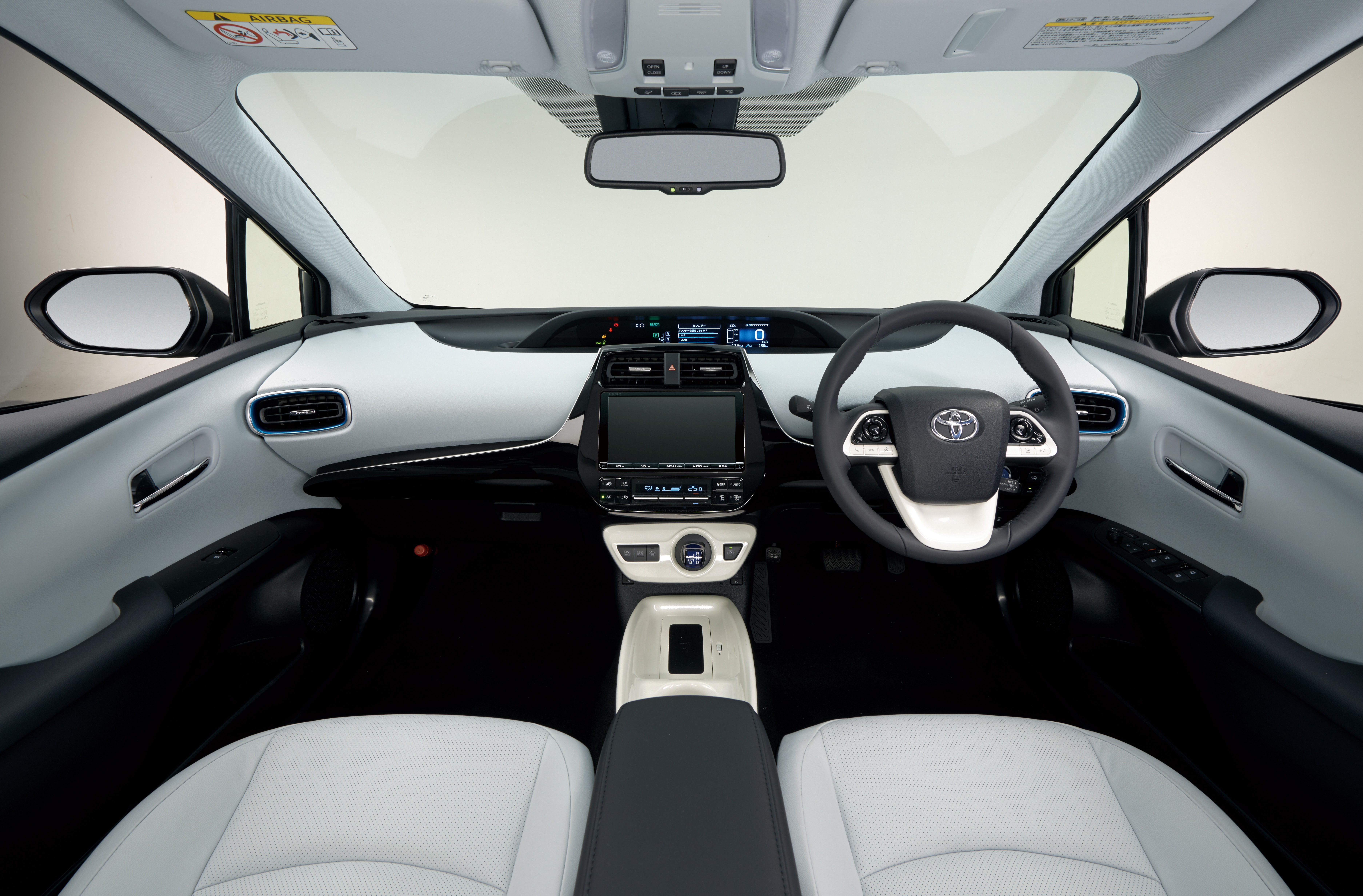 The redesigned 2016 Toyota Prius is roomier inside.