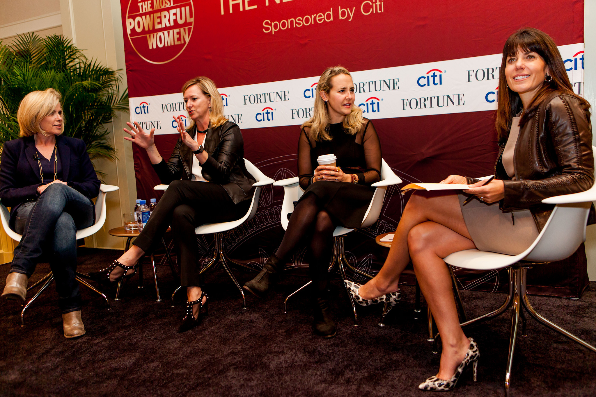 Fintech panel from Fortune's 2015 Most Powerful Women Summit