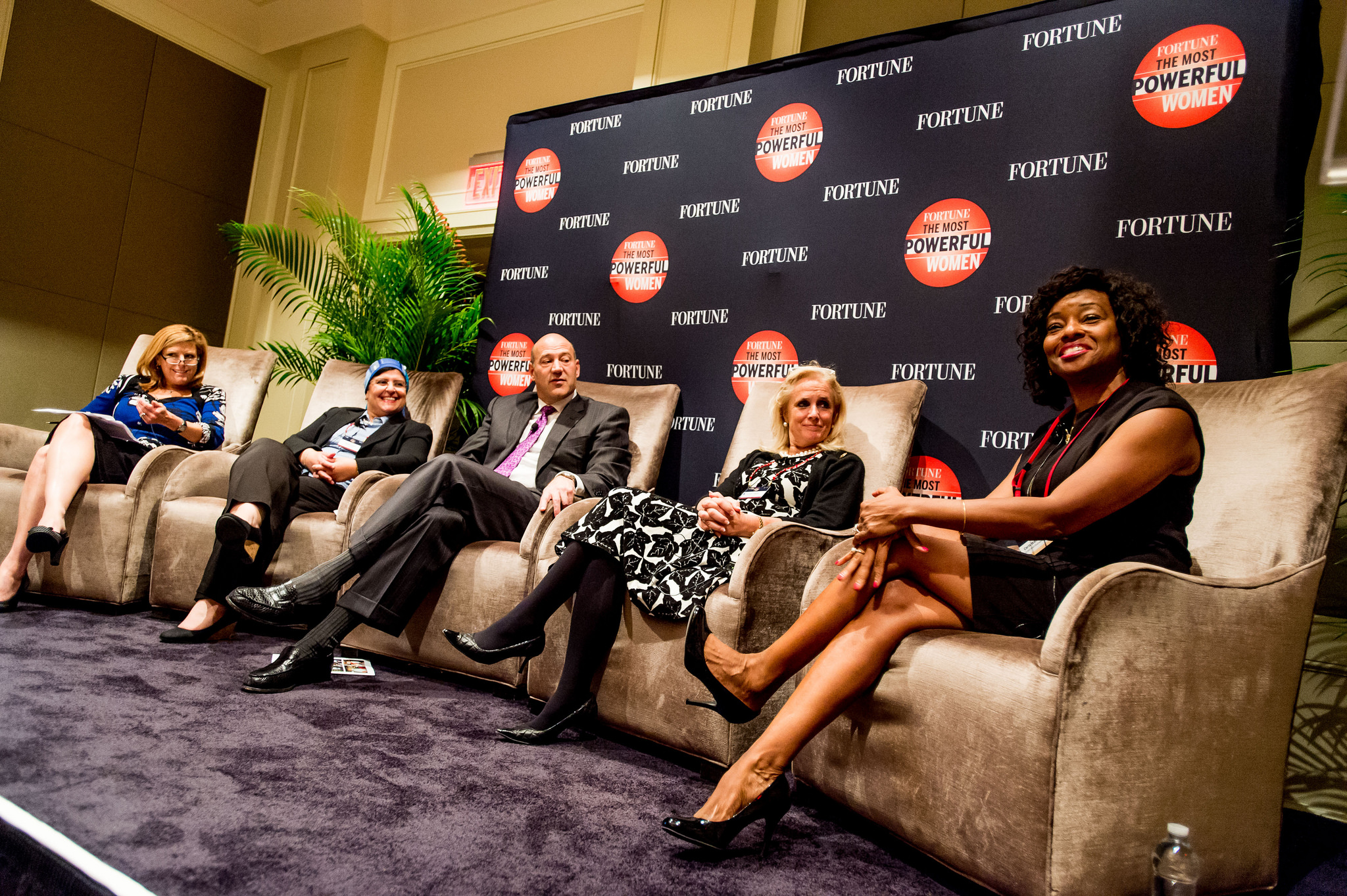 Global Woman Leaders at Fortune's 2015 Most Powerful Women Summit