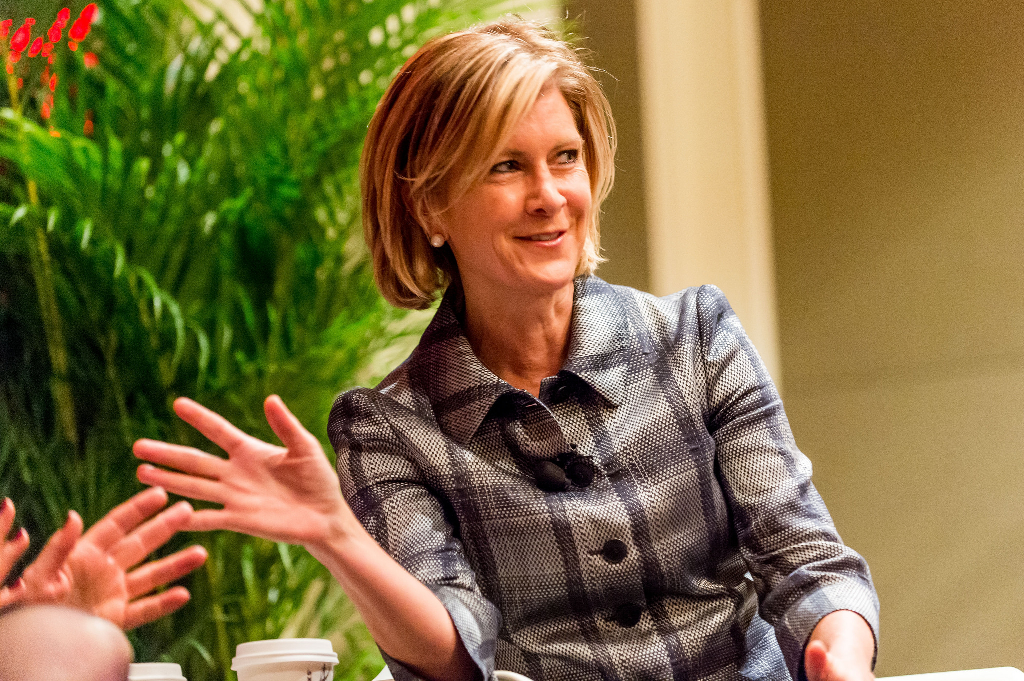 October 12th, 2015. Washington, D.C.: Mary Erdoes, CEO, J.P. Morgan Asset Management at Fortune's  Most Powerful Women 2015 summit